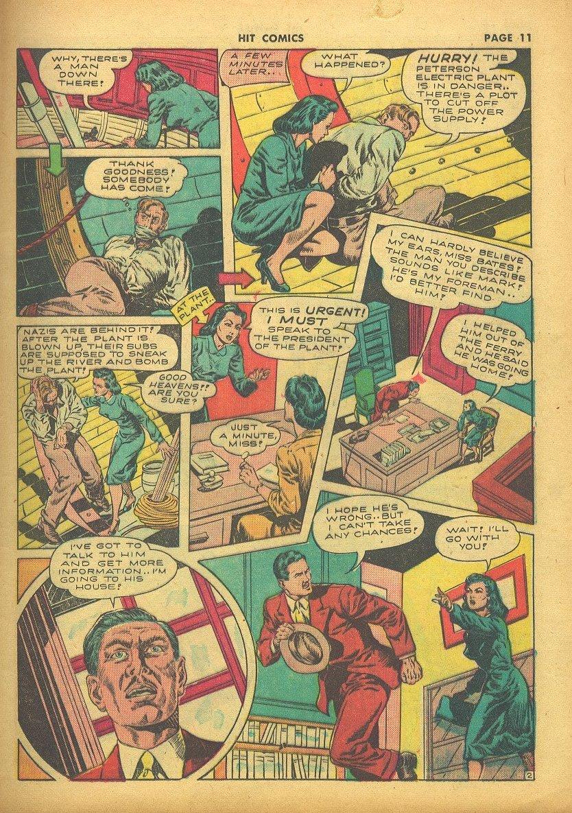 Read online Hit Comics comic -  Issue #24 - 13