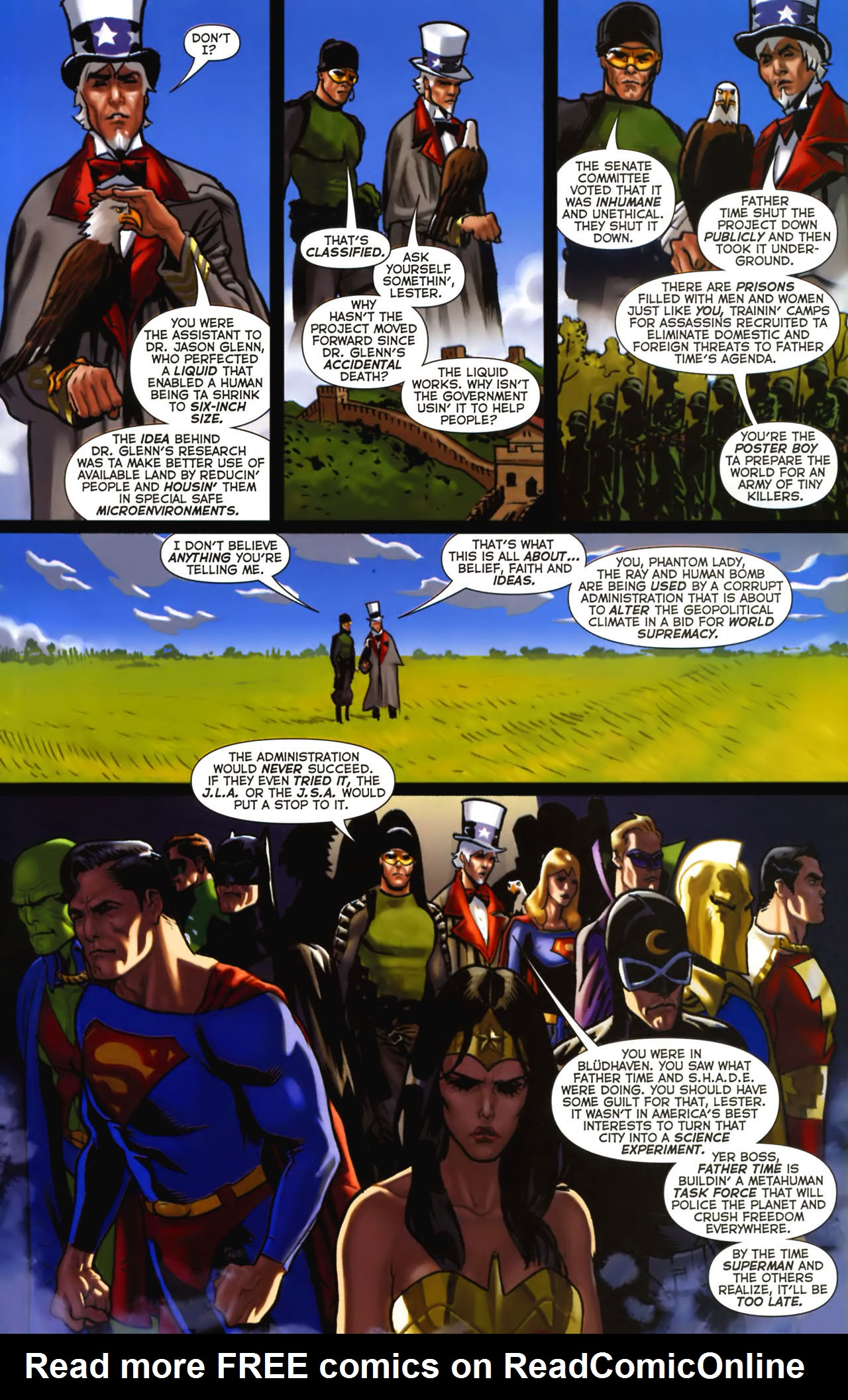 Read online Uncle Sam and the Freedom Fighters (2006) comic -  Issue #2 - 11
