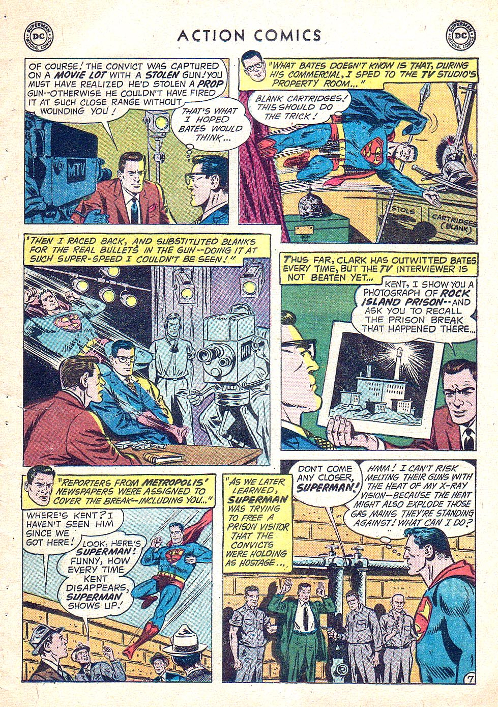 Read online Action Comics (1938) comic -  Issue #250 - 9