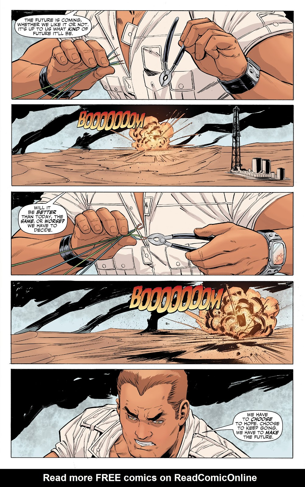 Doc Savage (2013) issue 4 - Page 23
