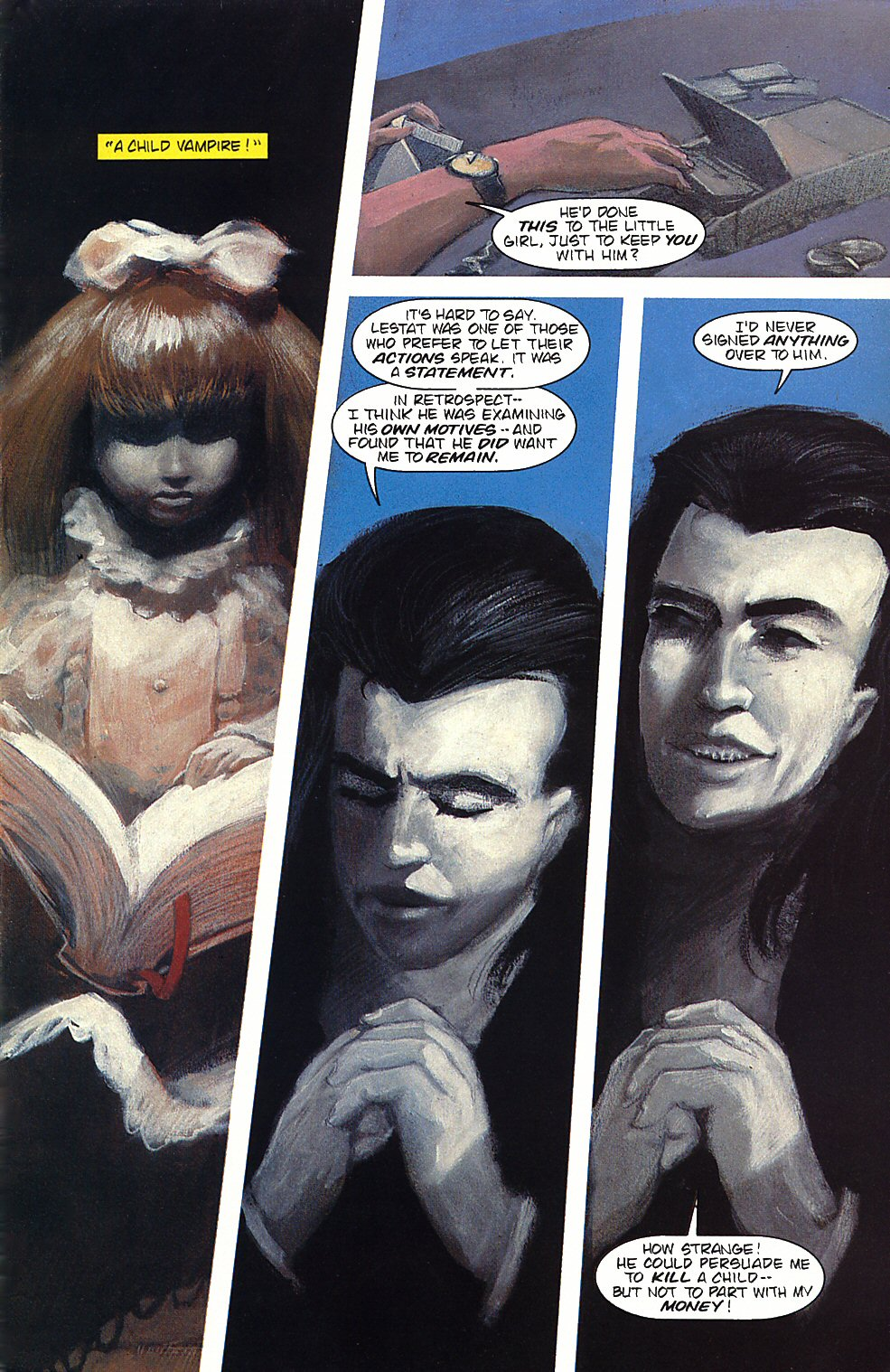 Read online Anne Rice's Interview with the Vampire comic -  Issue #4 - 5