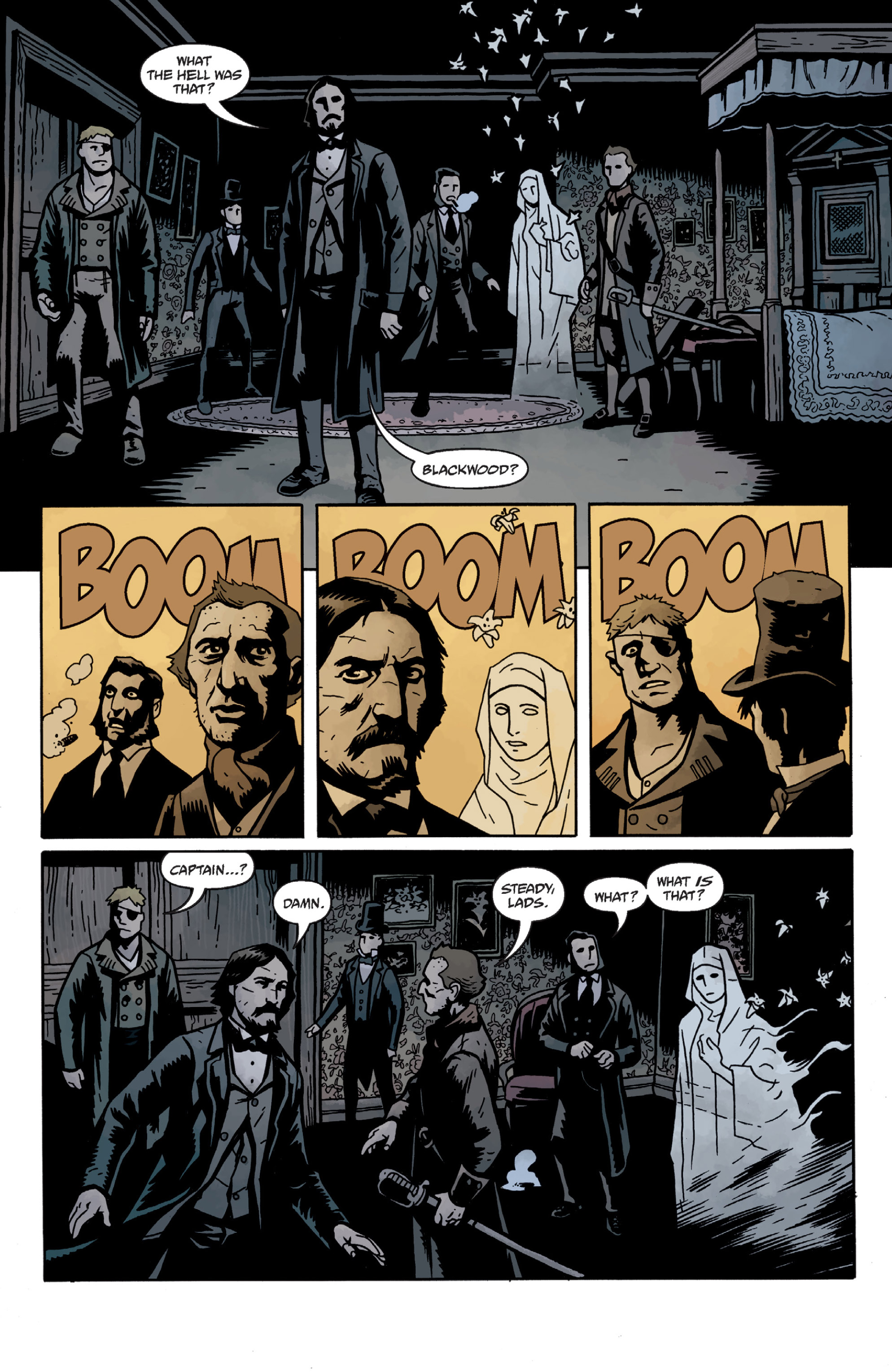 Read online Sir Edward Grey, Witchfinder: In the Service of Angels comic -  Issue # TPB - 51