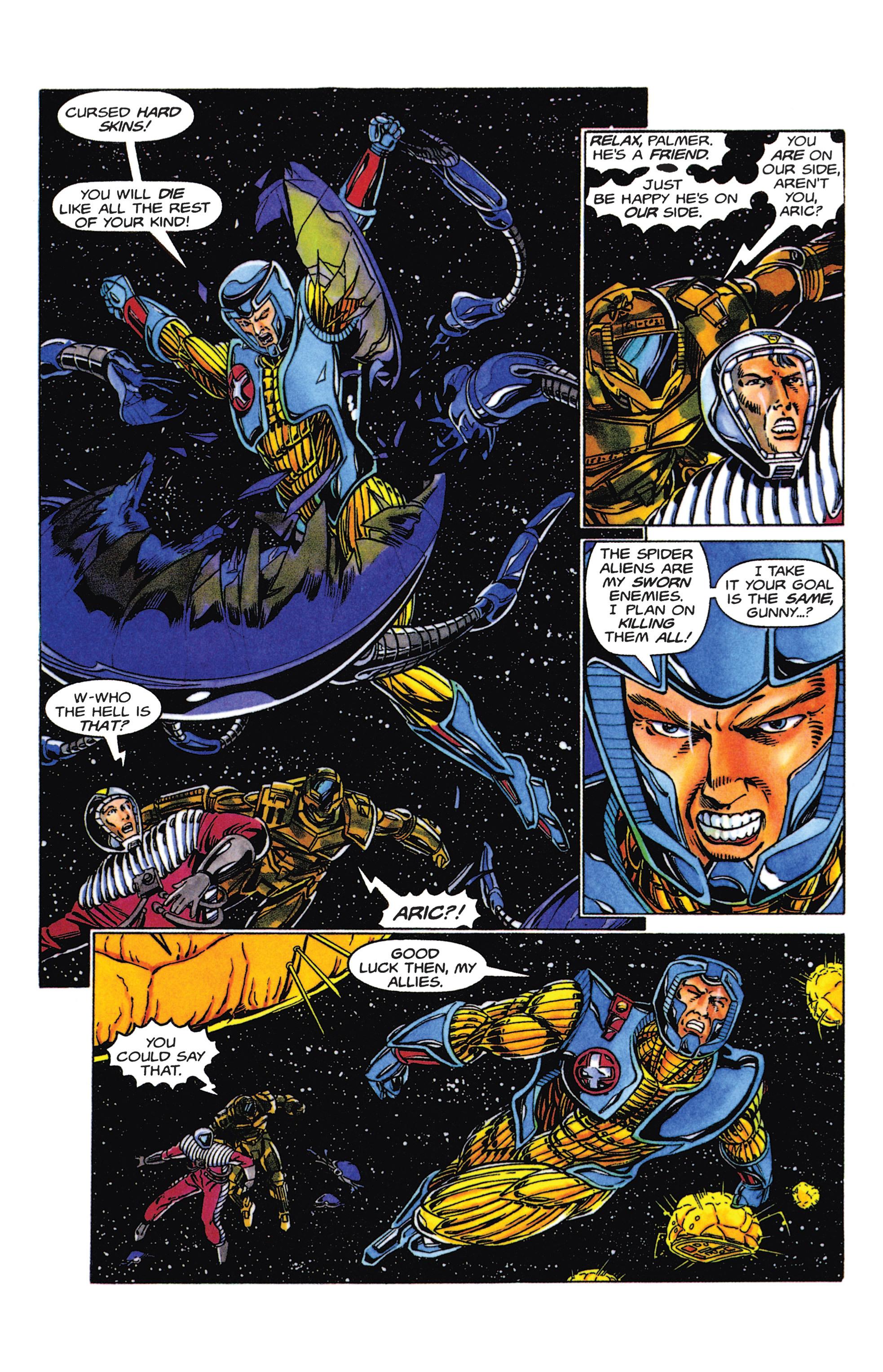 Read online Armorines comic -  Issue #5 - 19