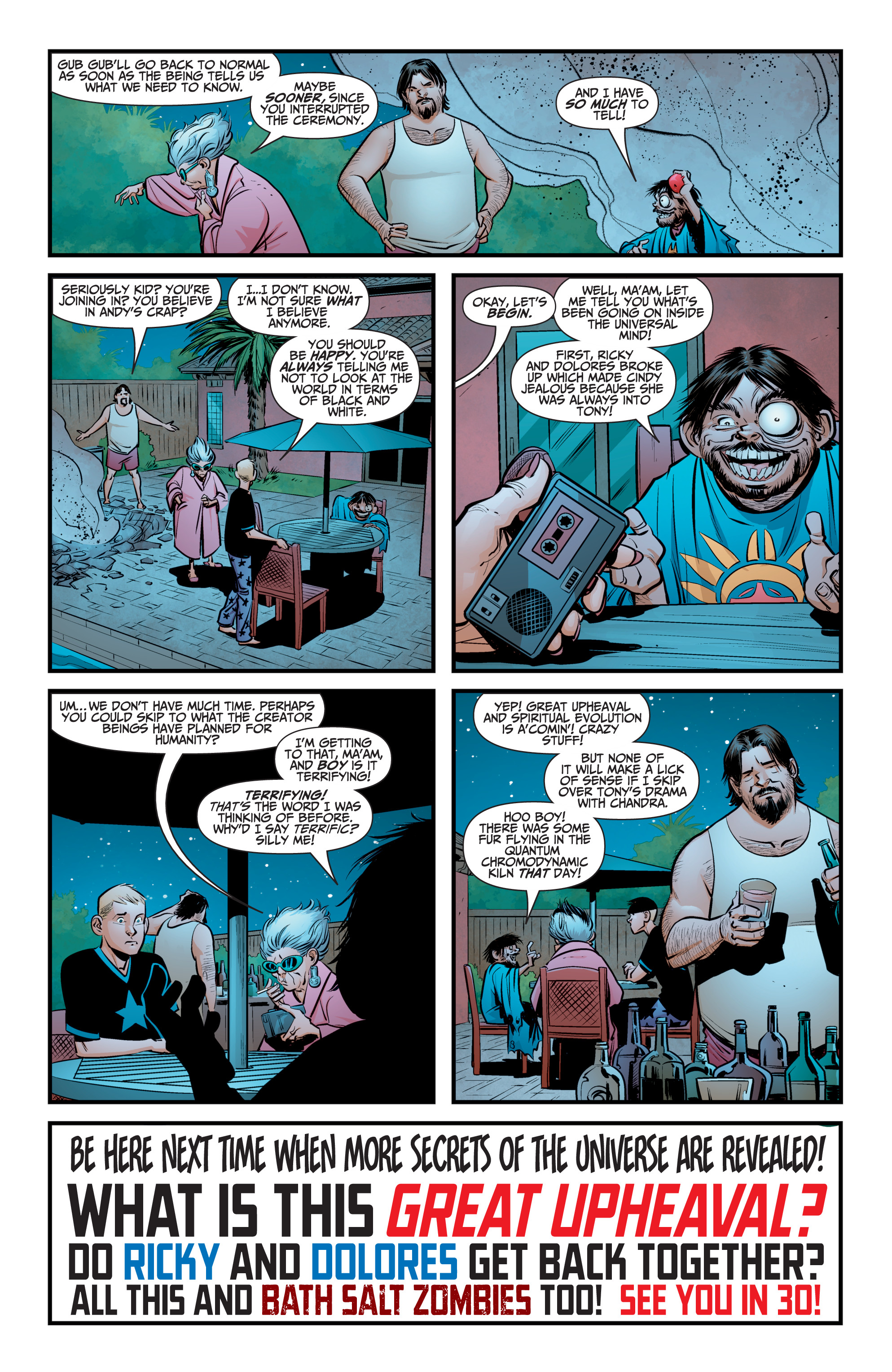 Read online A&A: The Adventures of Archer & Armstrong comic -  Issue #9 - 24