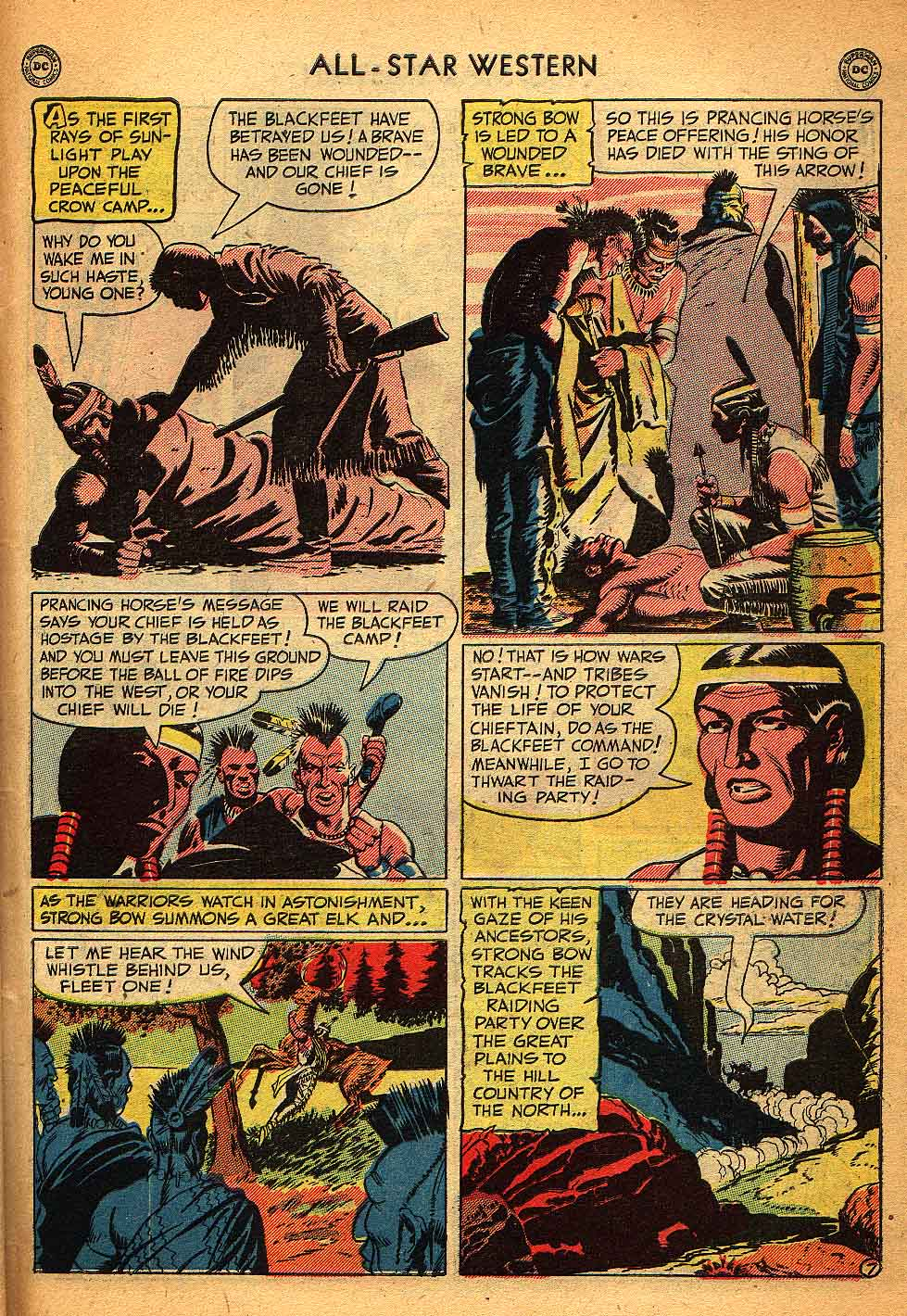 Read online All-Star Western (1951) comic -  Issue #58 - 45