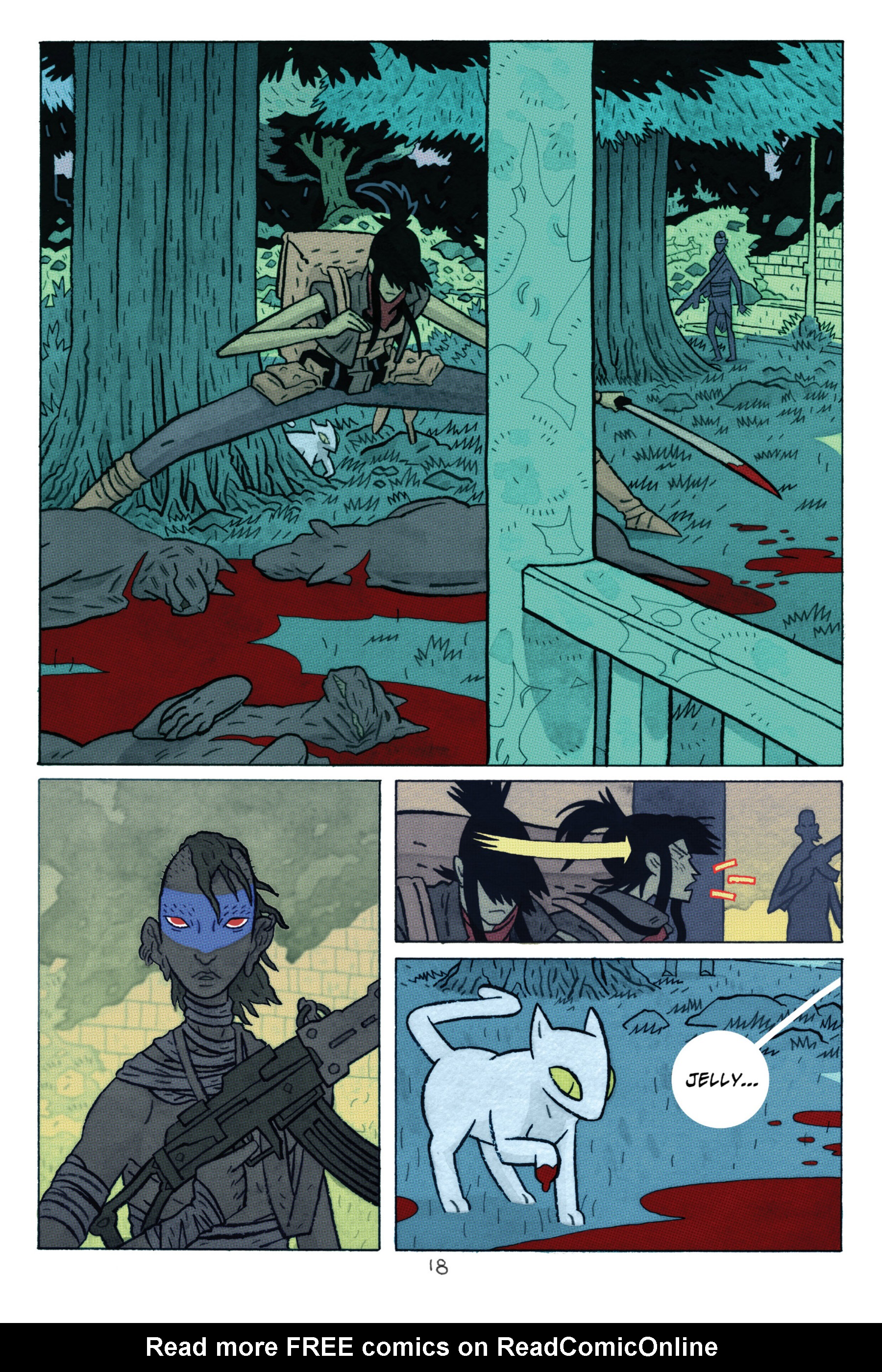 Read online ApocalyptiGirl: An Aria for the End Times comic -  Issue #ApocalyptiGirl: An Aria for the End Times Full - 26