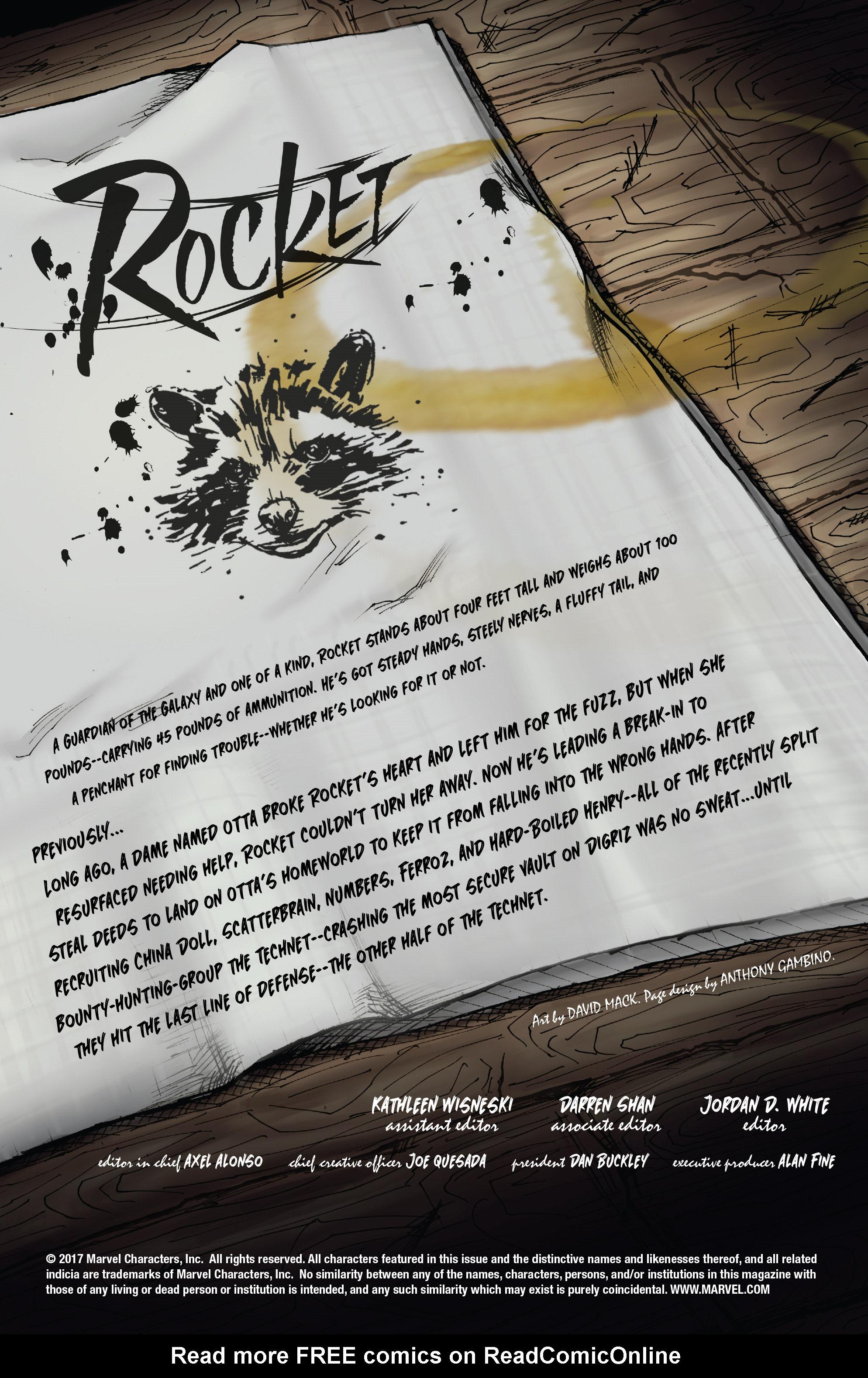 Read online Rocket comic -  Issue #2 - 2