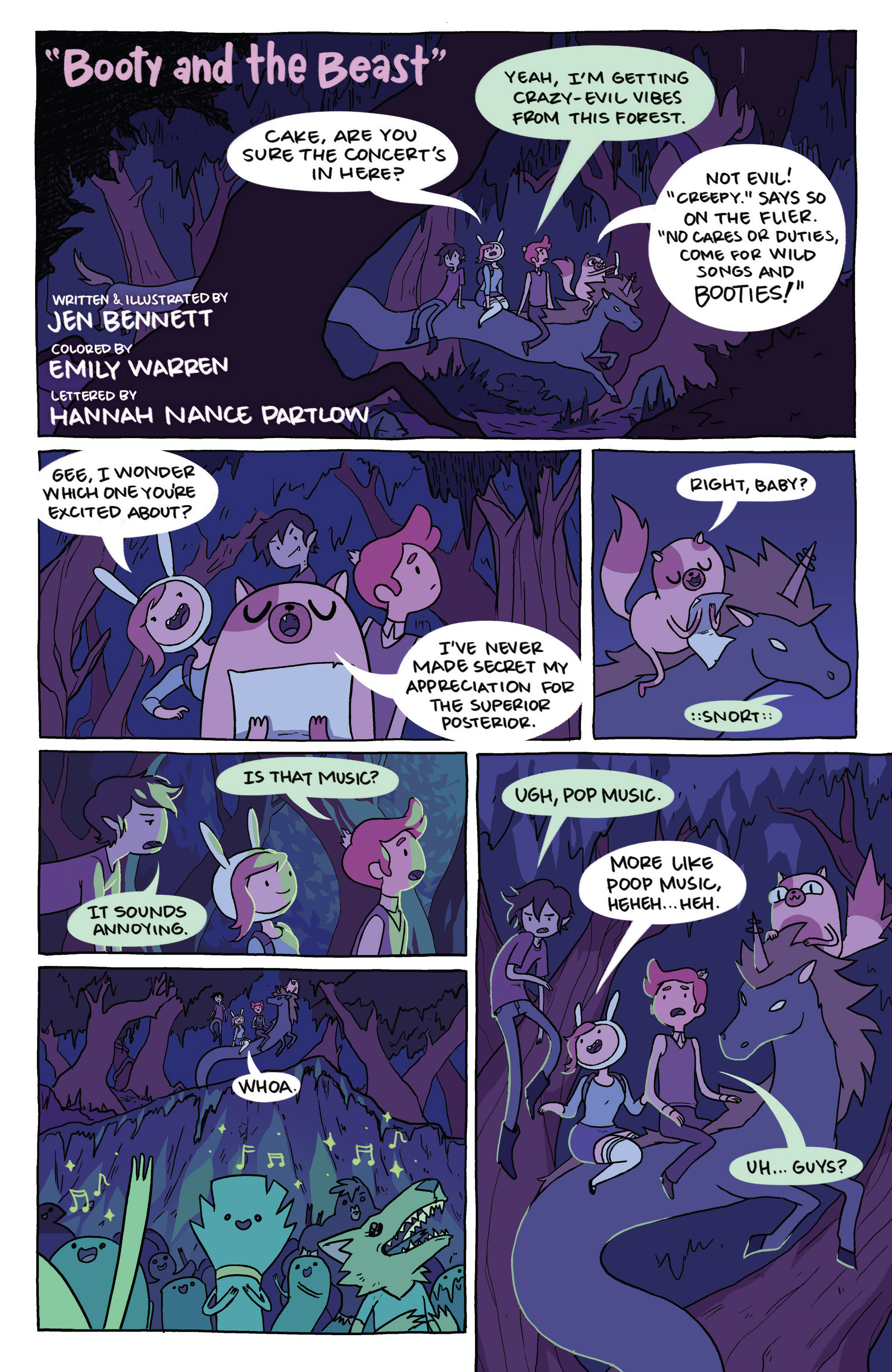 Read online Adventure Time comic -  Issue #23 - 23