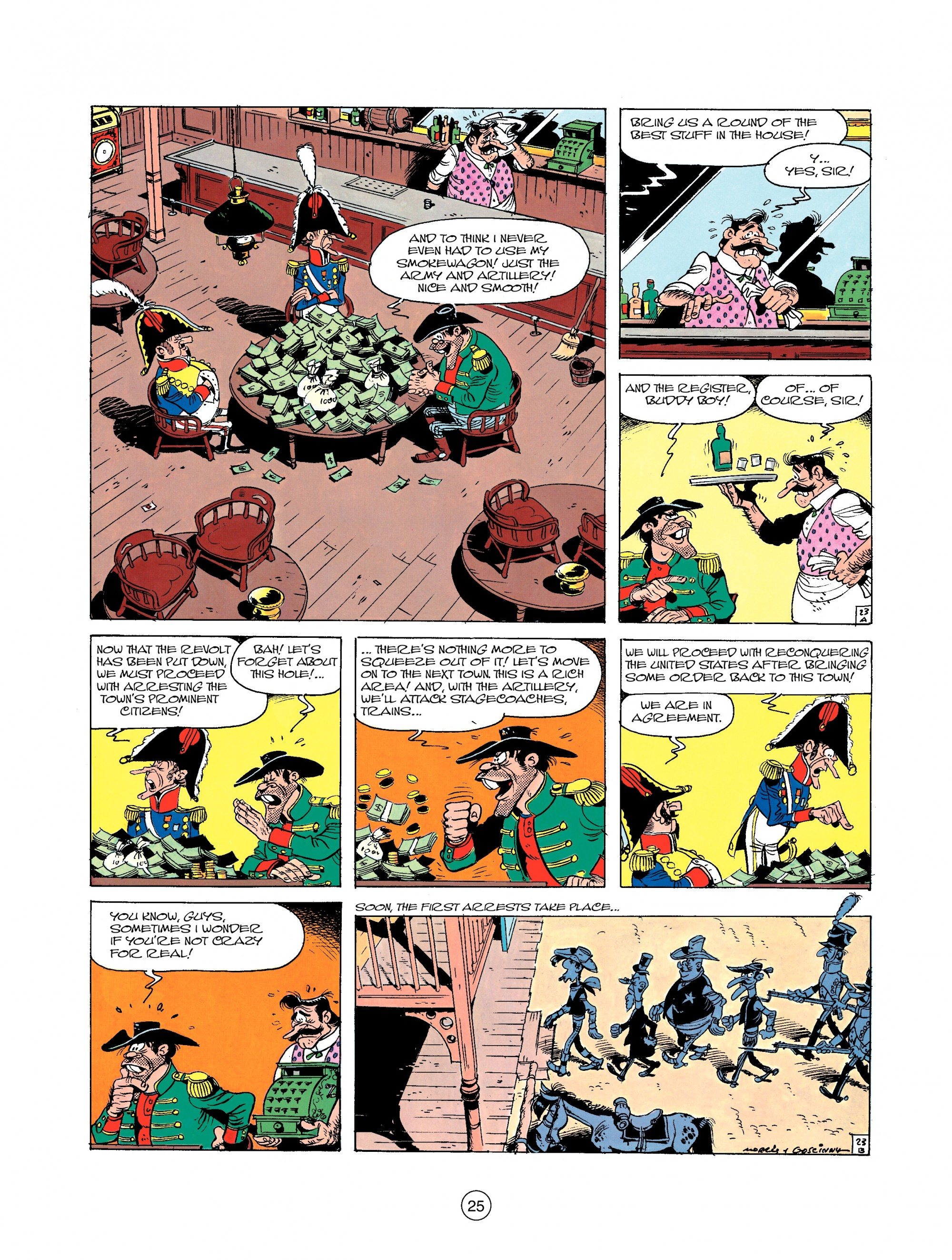 Read online A Lucky Luke Adventure comic -  Issue #22 - 25