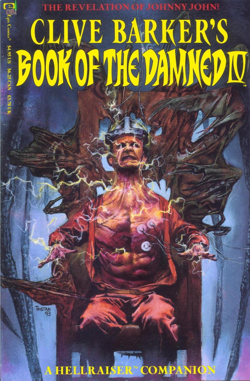 Clive Barkers Book of the Damned: A Hellraiser Companion 4 Page 1