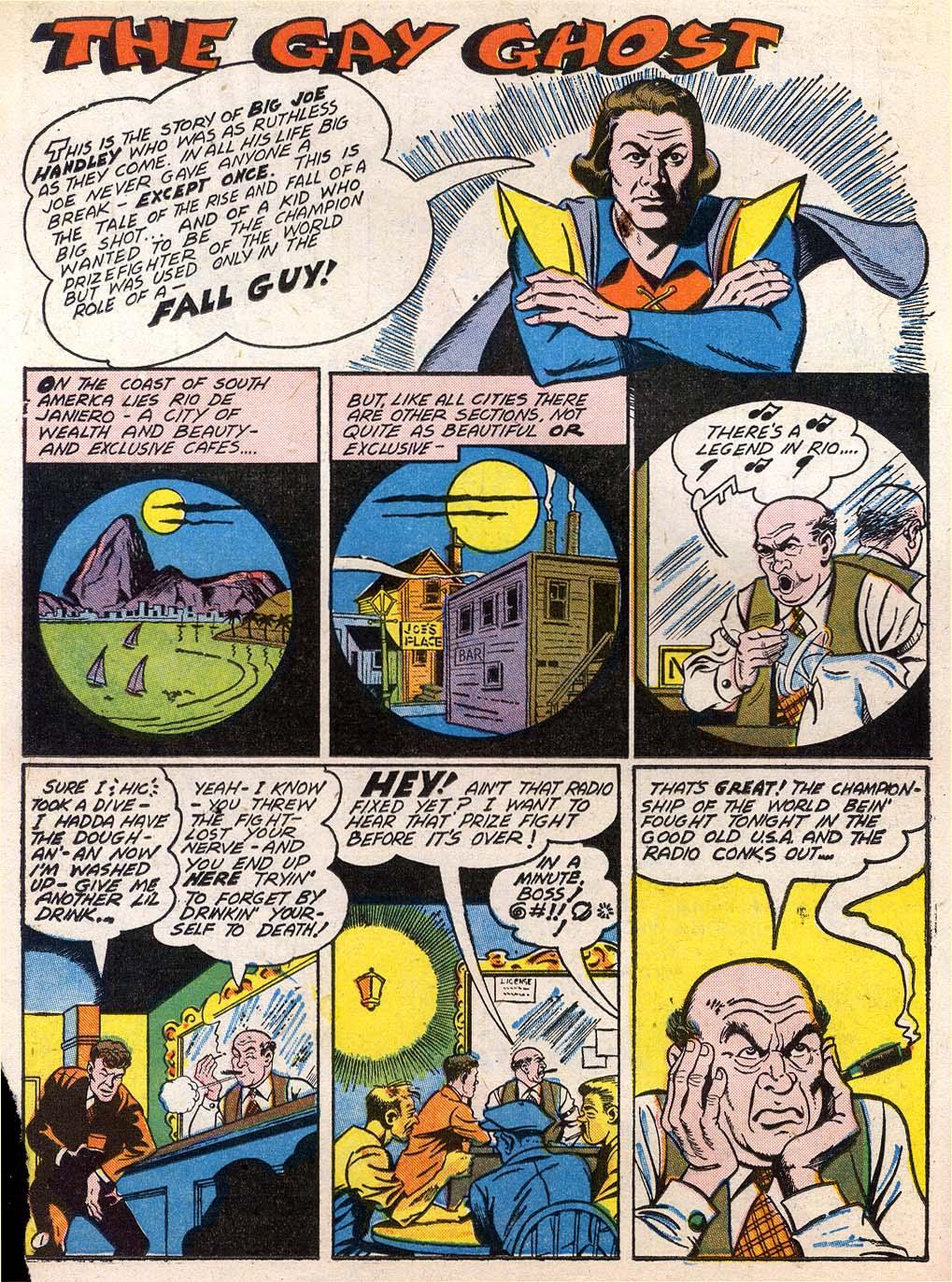 Read online Sensation (Mystery) Comics comic -  Issue #27 - 32