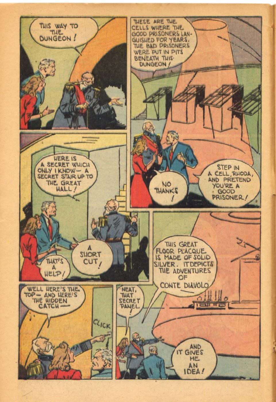 Read online Super-Magician Comics comic -  Issue #38 - 8
