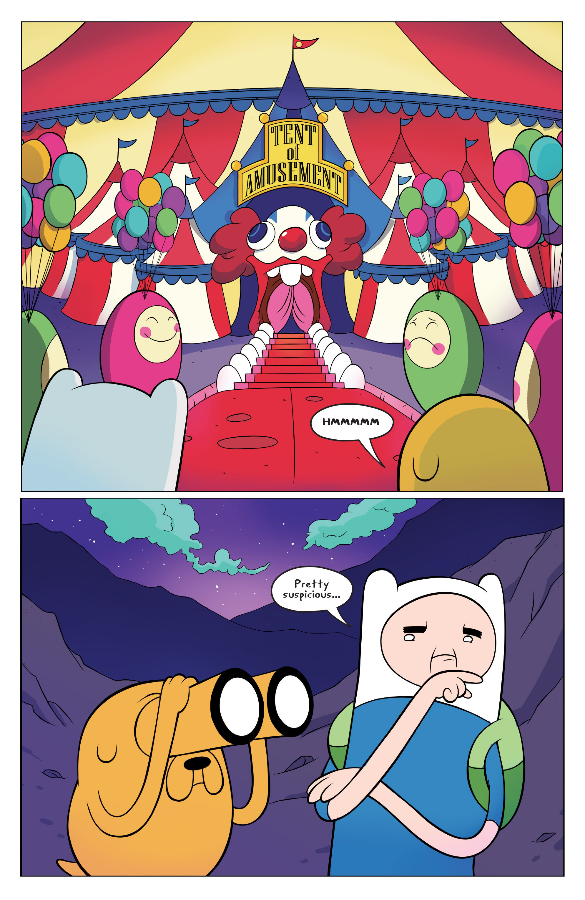 Read online Adventure Time comic -  Issue #45 - 3