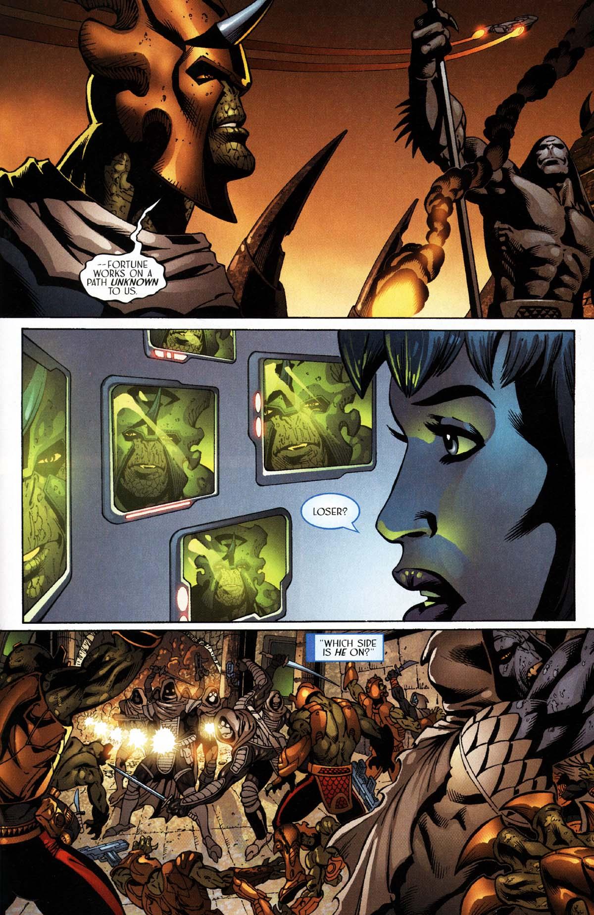 Read online Sigil (2000) comic -  Issue #27 - 17