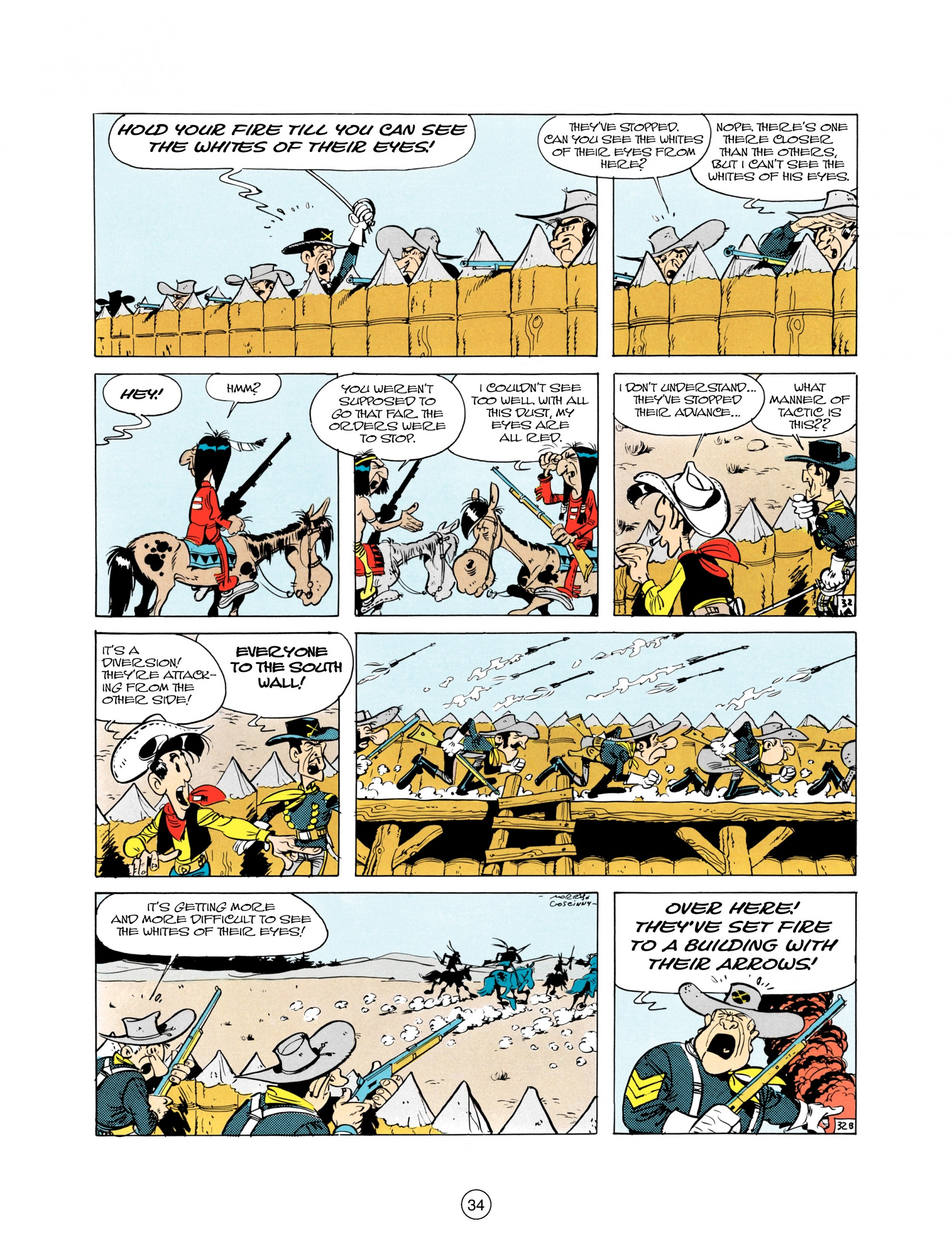 Read online A Lucky Luke Adventure comic -  Issue #21 - 34