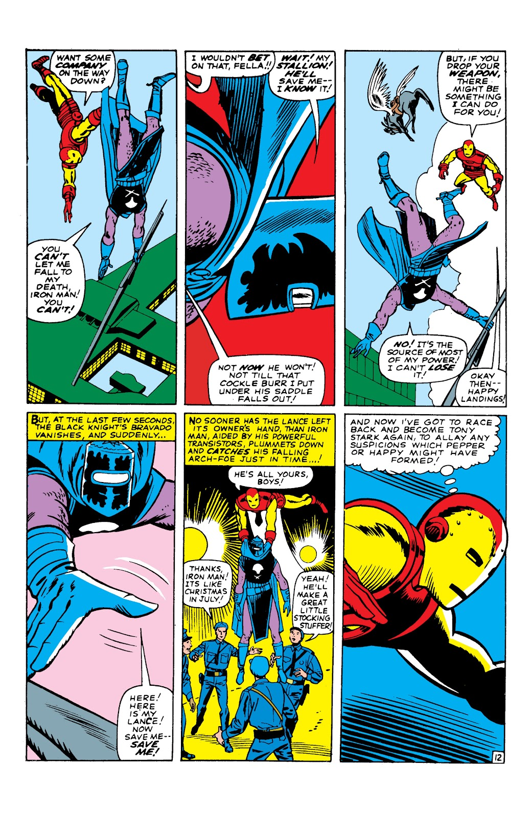 Read online Marvel Masterworks: The Invincible Iron Man comic -  Issue # TPB 2 (Part 2) - 53
