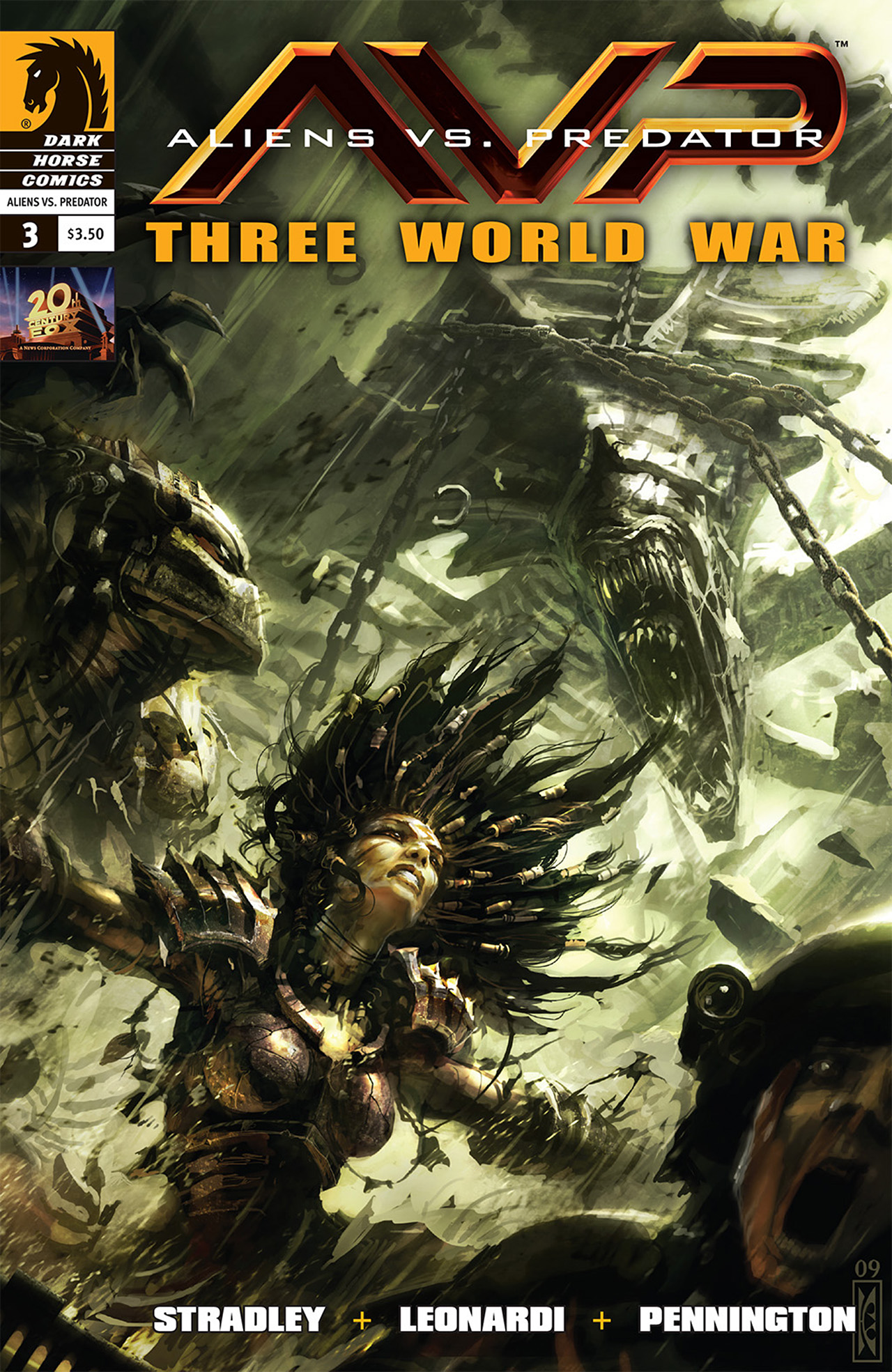 Read online Aliens vs. Predator: Three World War comic -  Issue #3 - 1