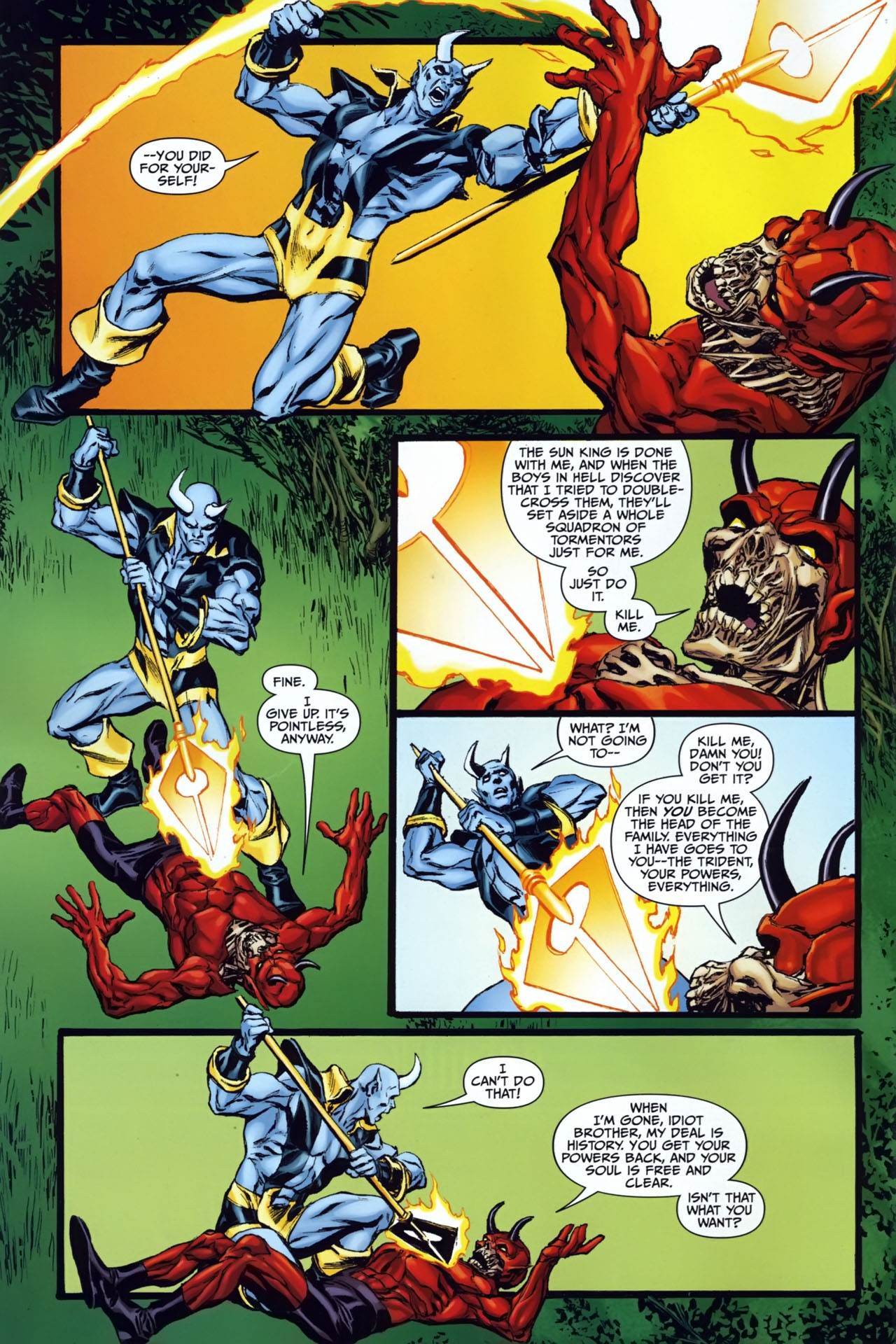 Read online Shadowpact comic -  Issue #25 - 6
