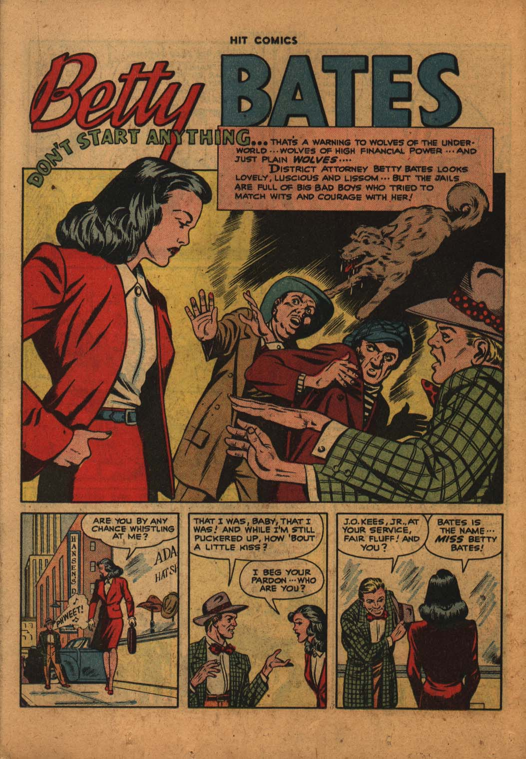 Read online Hit Comics comic -  Issue #47 - 25