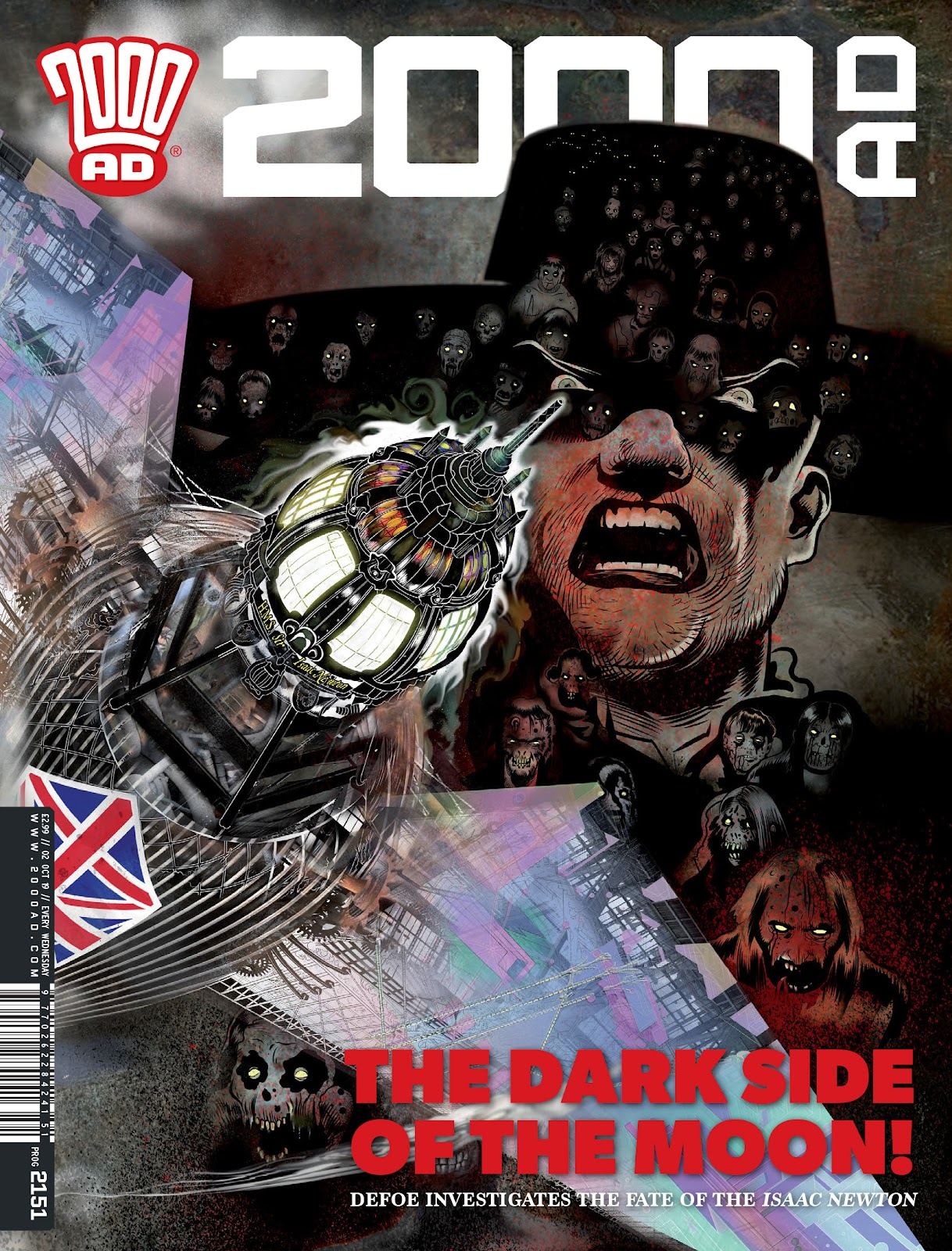 2000 AD issue 2151 - Page 1