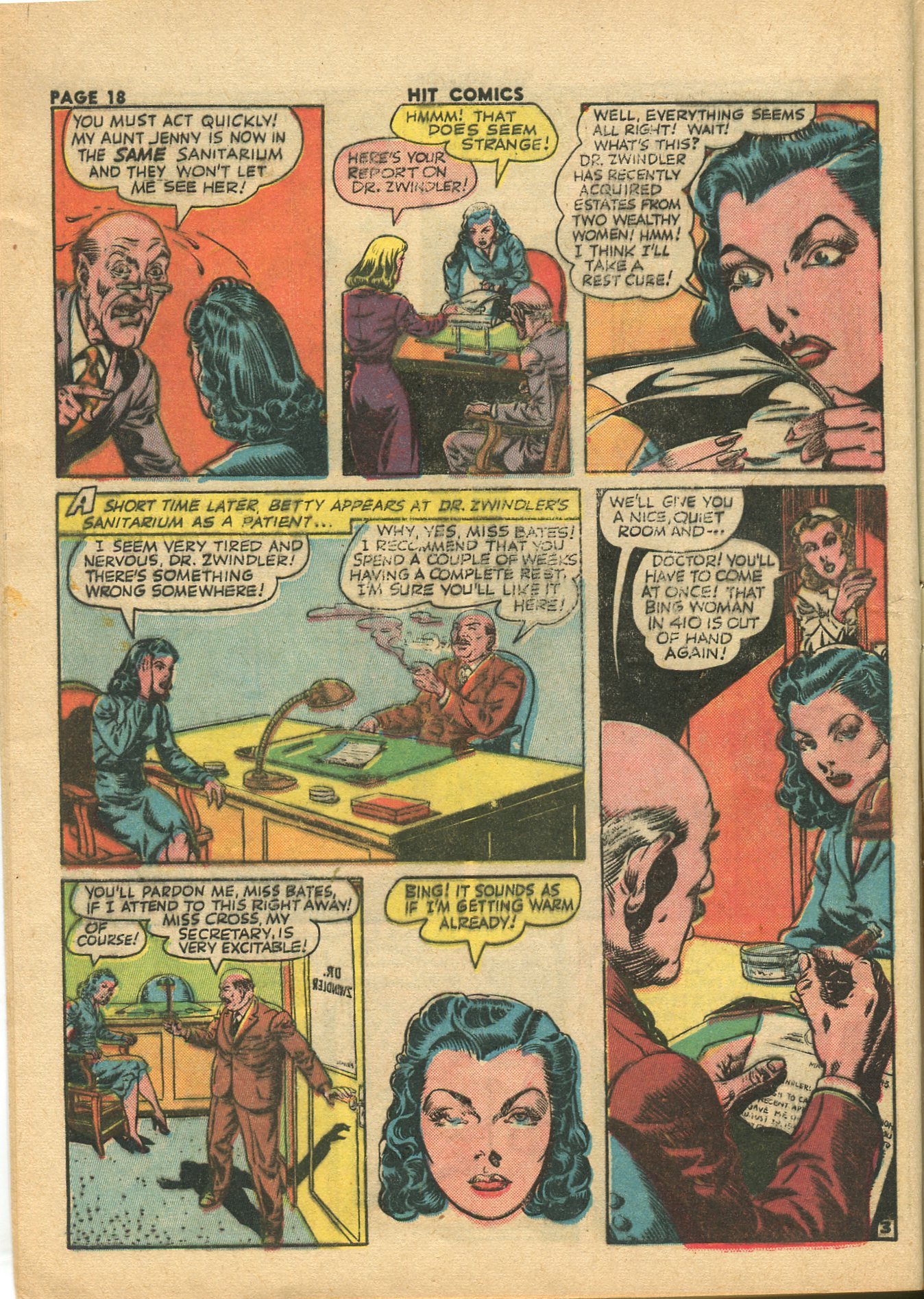 Read online Hit Comics comic -  Issue #28 - 21