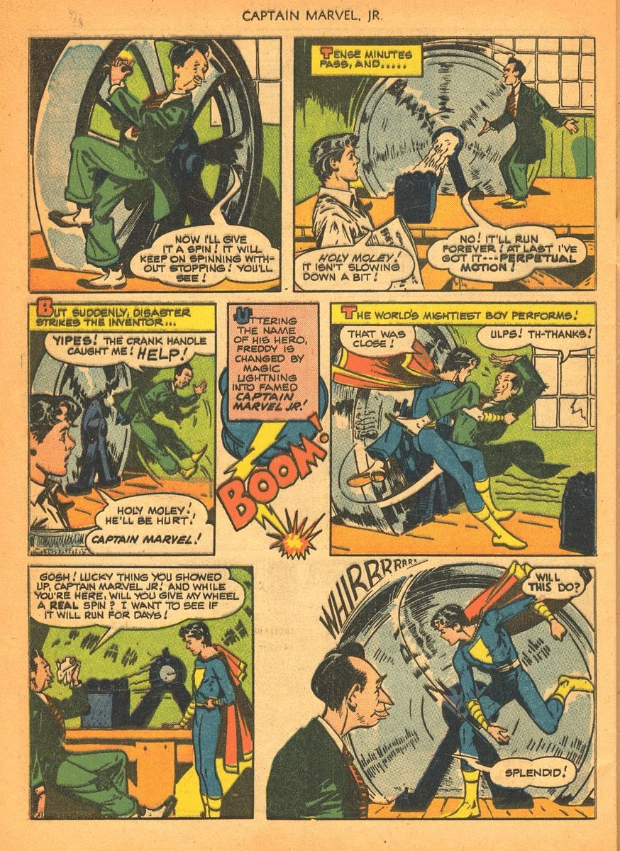 Captain Marvel, Jr. issue 84 - Page 28