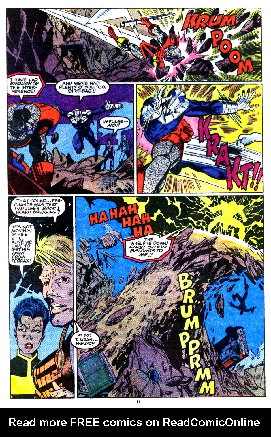 The New Warriors Issue #16 #20 - English 10