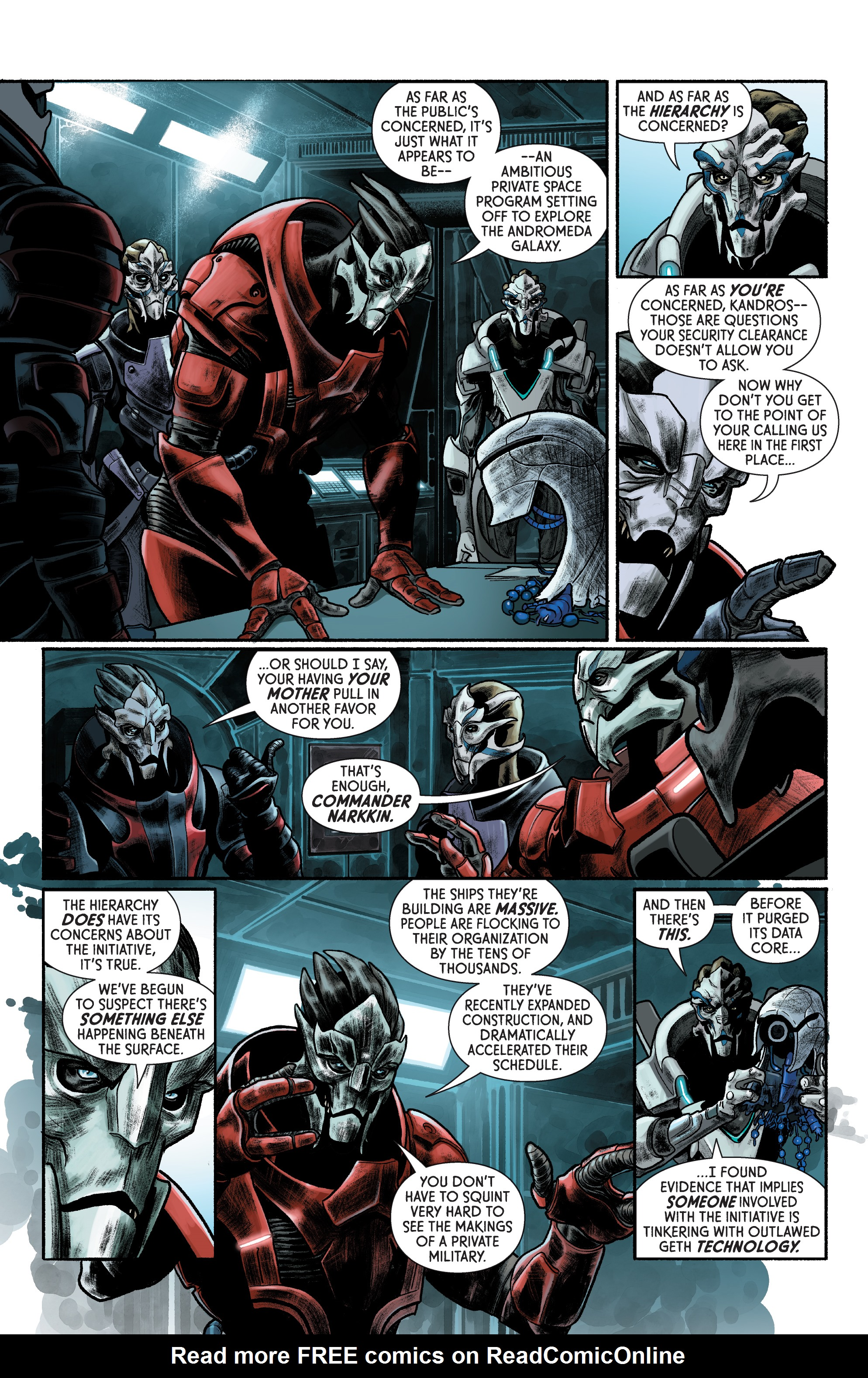 Read online Mass Effect: Discovery comic -  Issue #1 - 10