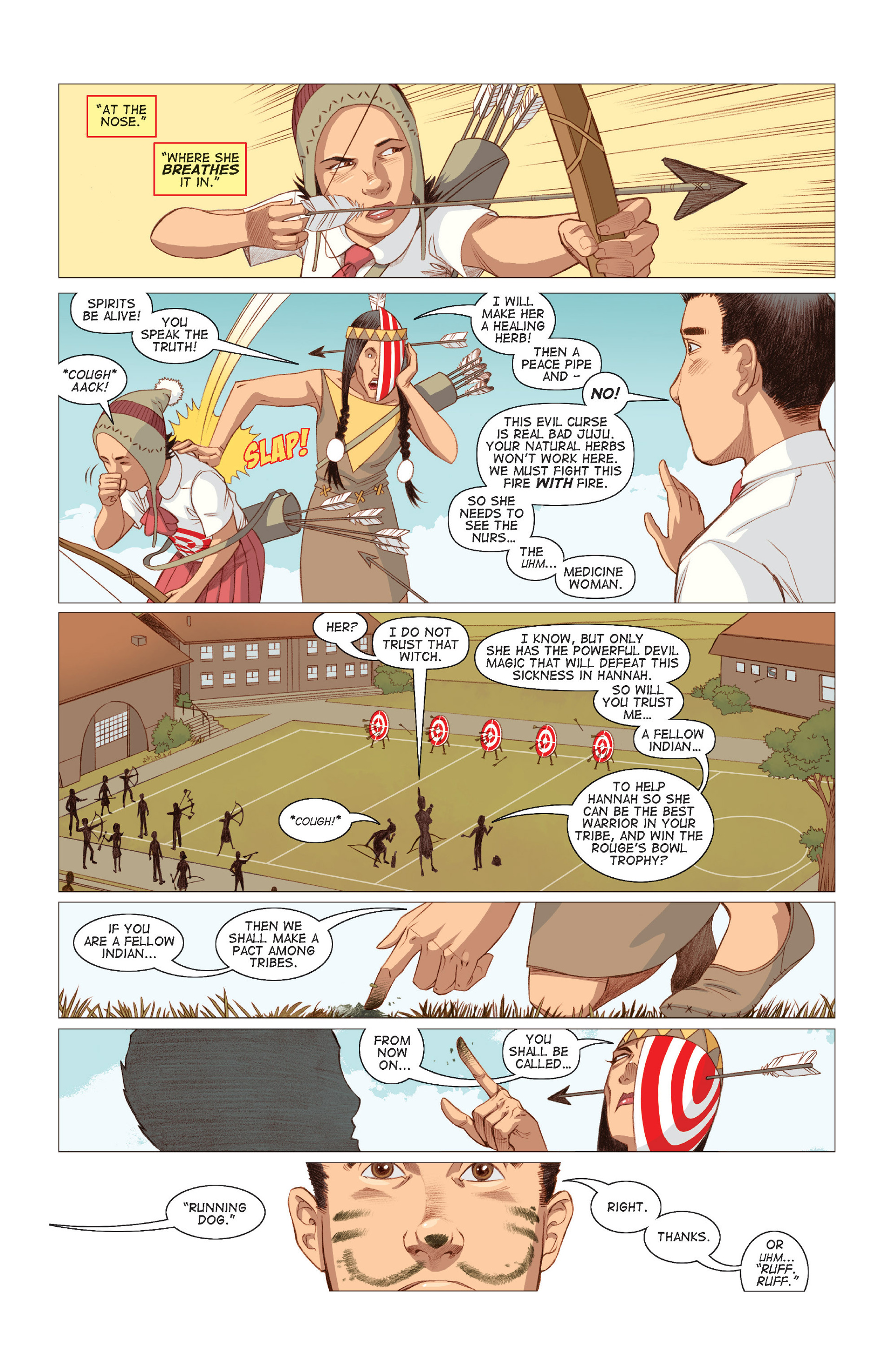 Read online Five Weapons comic -  Issue #8 - 6