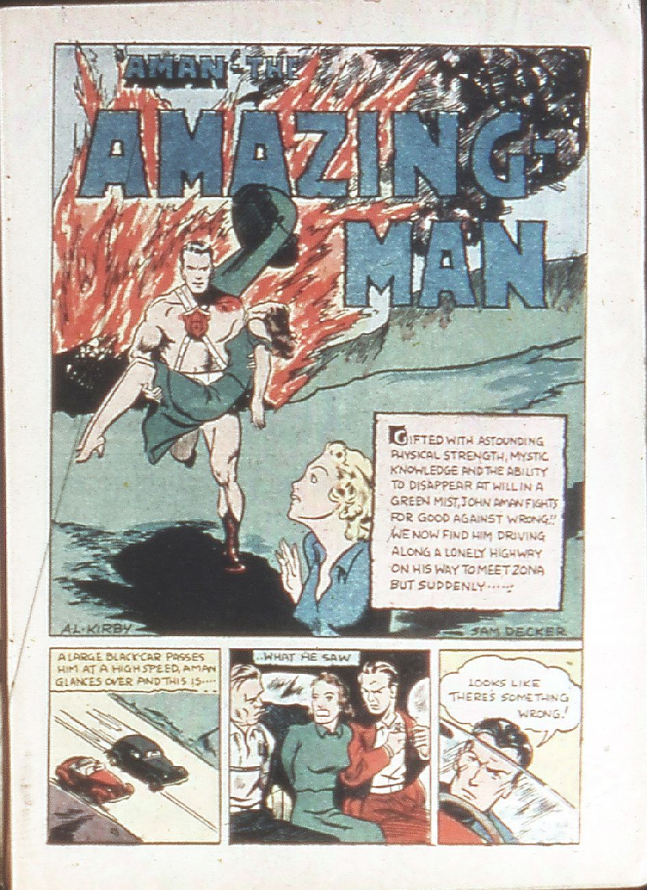 Read online Amazing Man Comics comic -  Issue #18 - 3