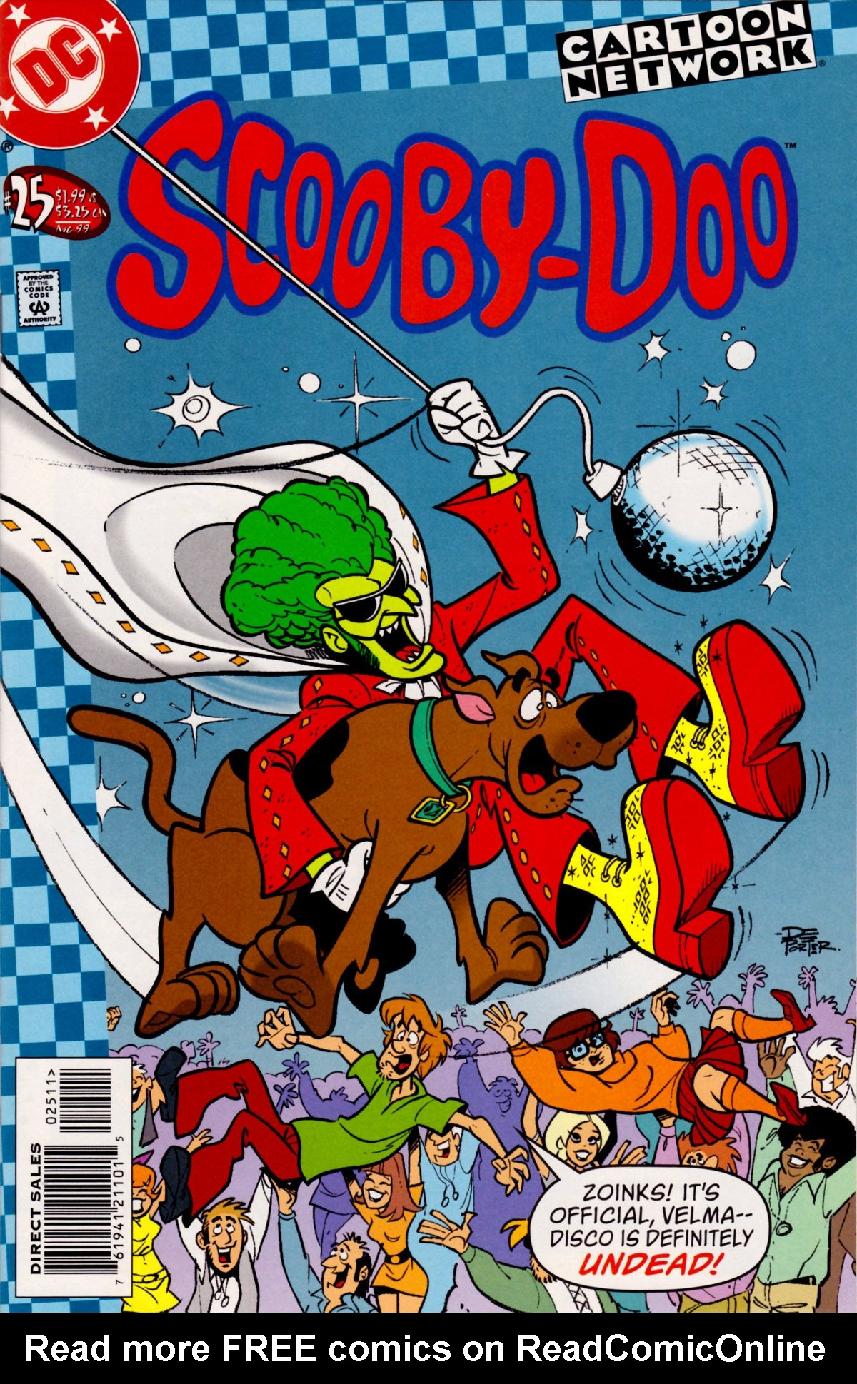 Read online Scooby-Doo (1997) comic -  Issue #25 - 1