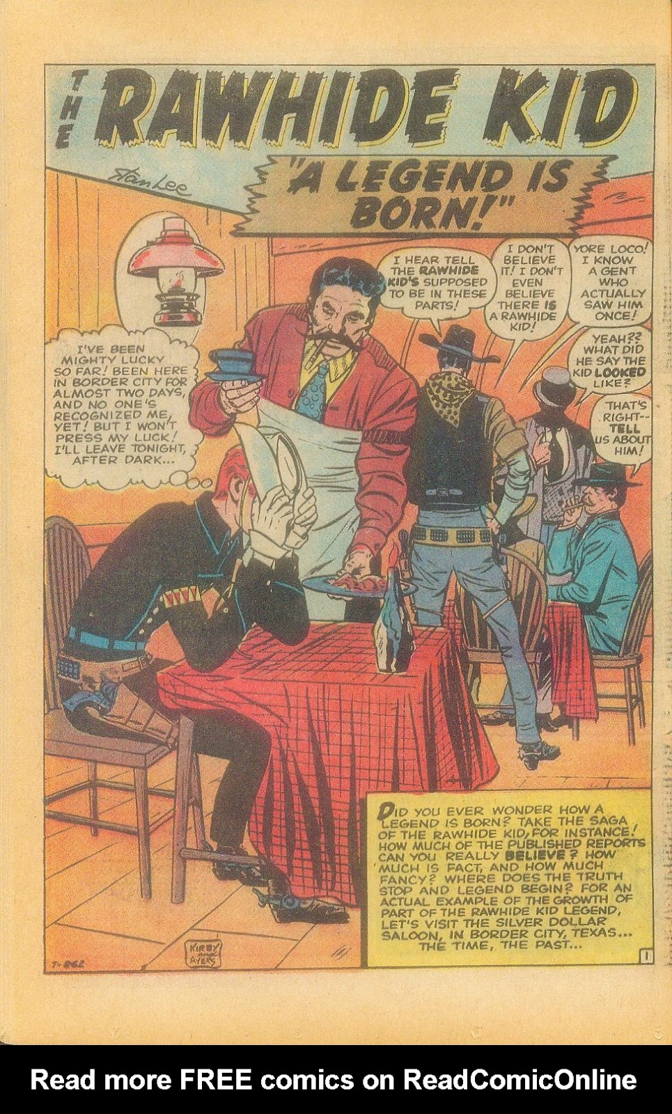 The Rawhide Kid (1955) issue 92 - Page 36