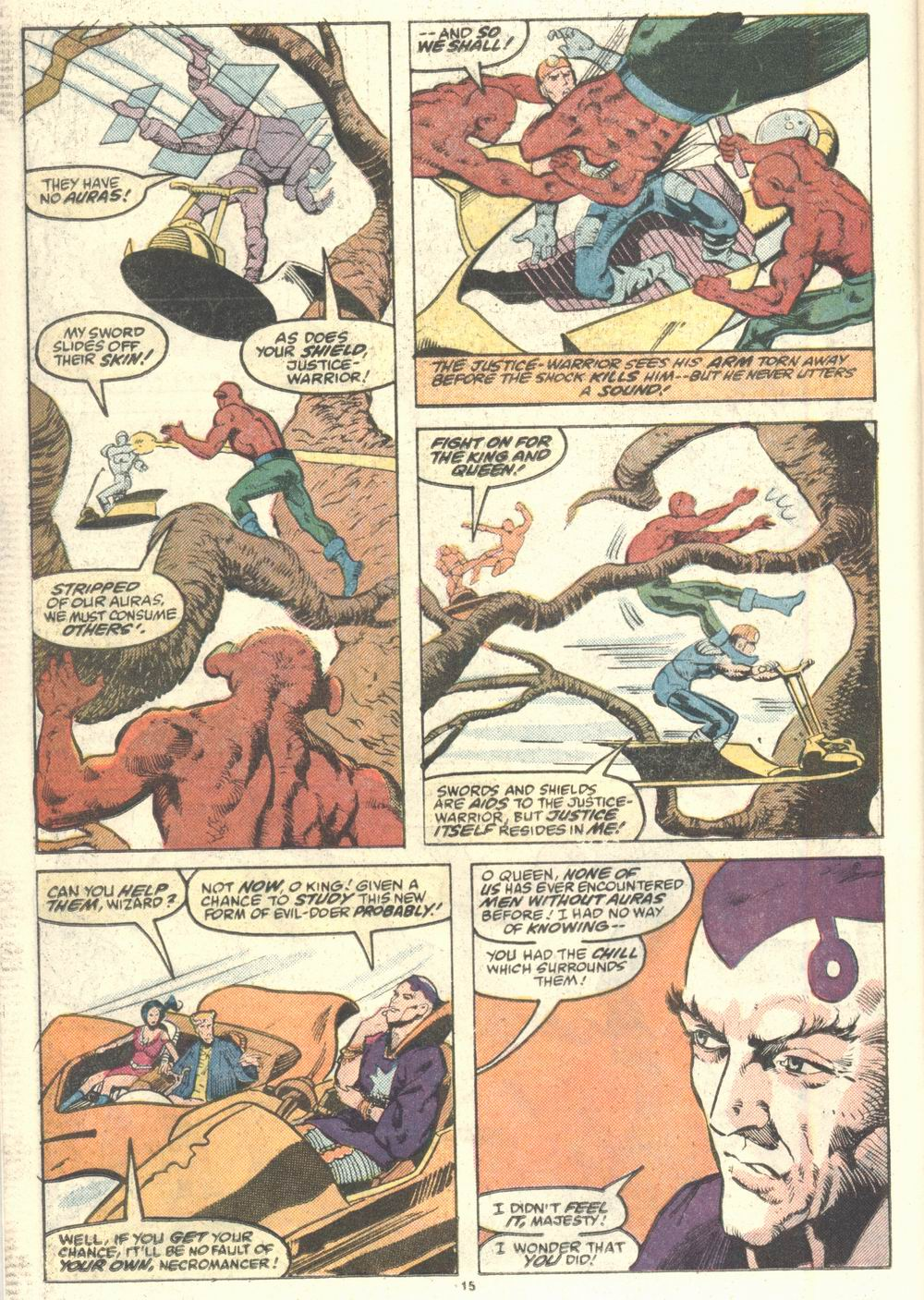 Read online Justice (1986) comic -  Issue #2 - 16