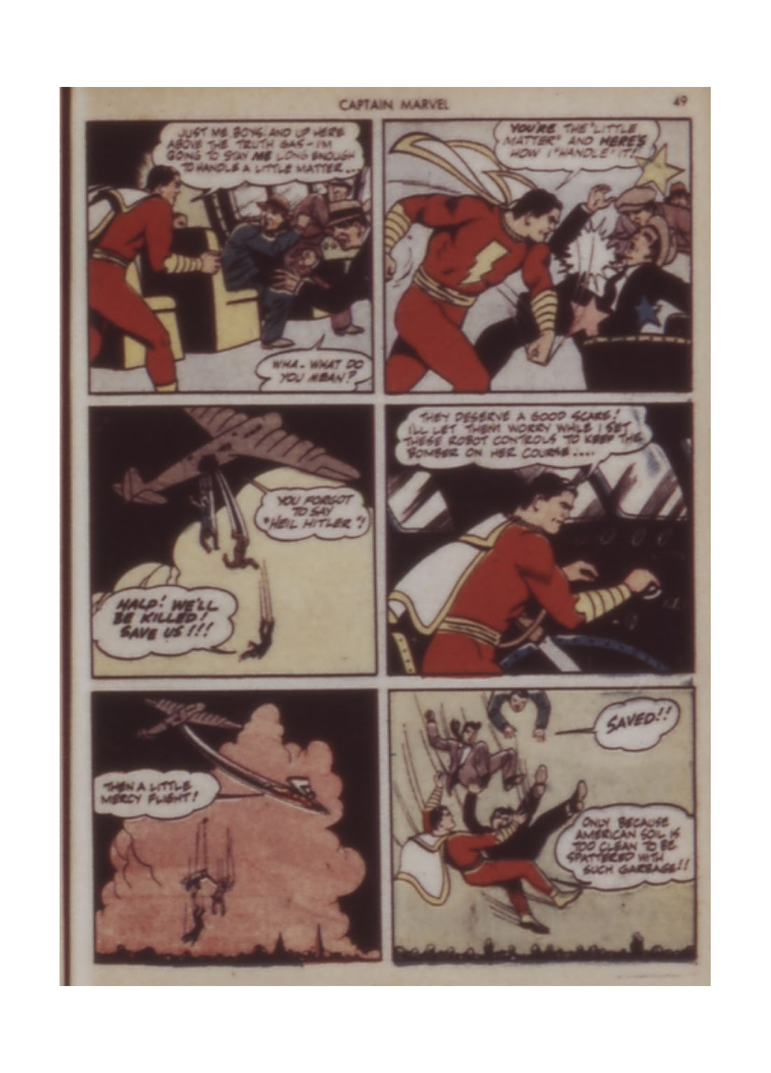 Captain Marvel Adventures issue 12 - Page 49