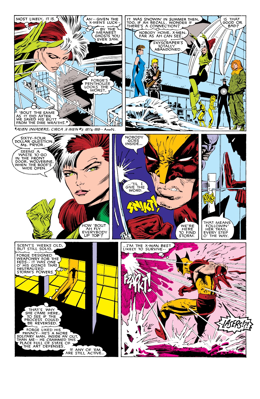 Read online X-Men Milestones: Fall of the Mutants comic -  Issue # TPB (Part 1) - 16