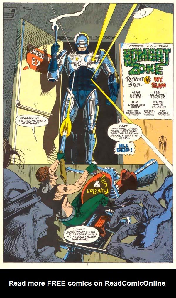 Read online Robocop (1990) comic -  Issue #1 - 4