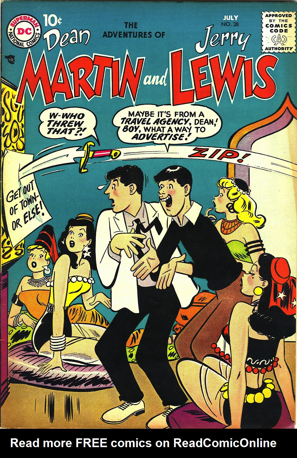 The Adventures of Dean Martin and Jerry Lewis 38 Page 1