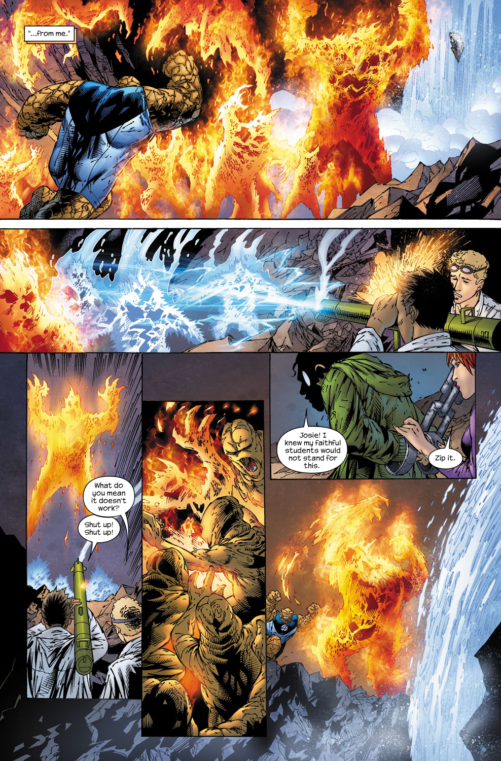 Read online Ultimate Fantastic Four (2004) comic -  Issue #58 - 19