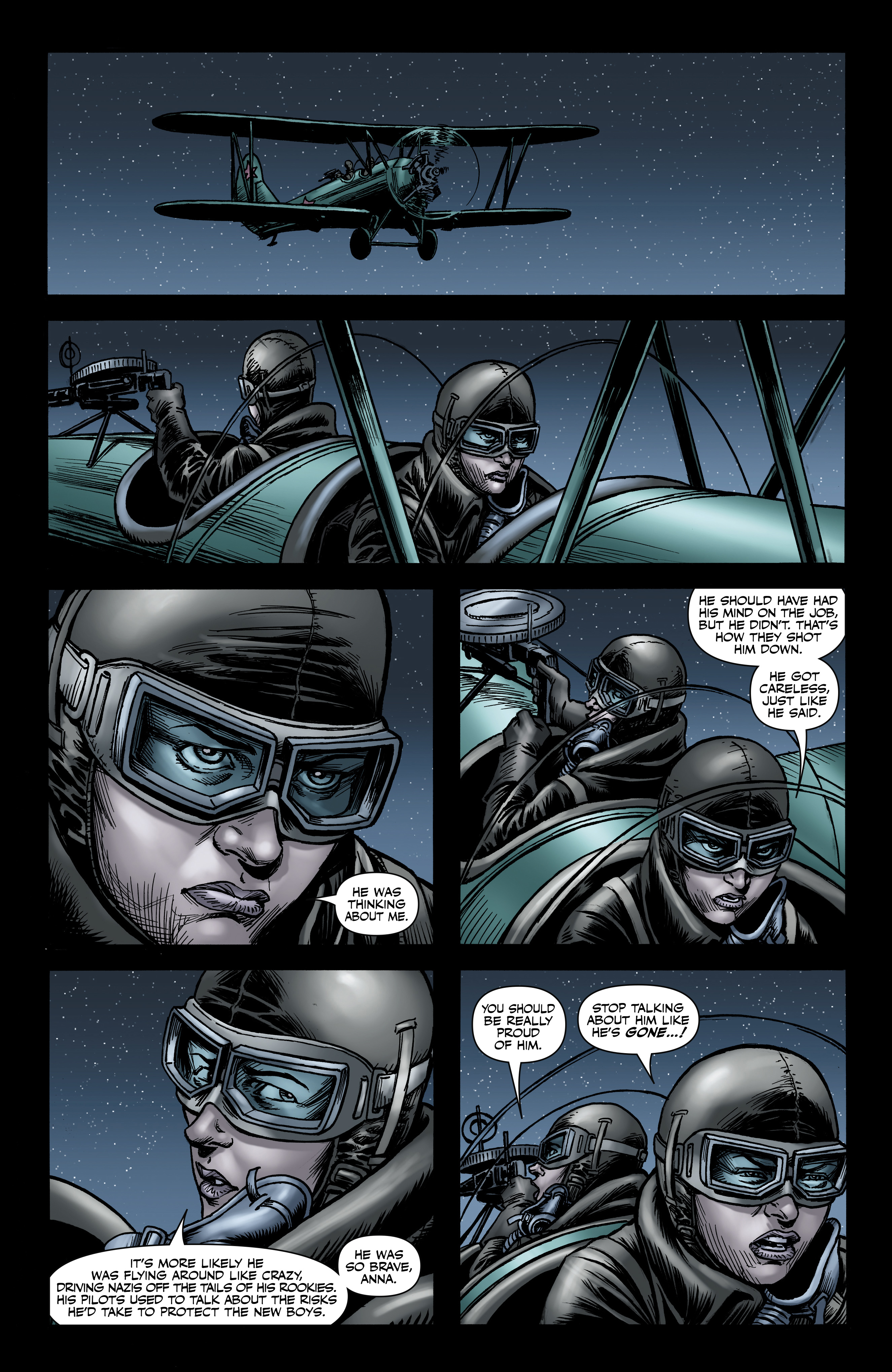 Read online Battlefields: Night Witches comic -  Issue # TPB - 60