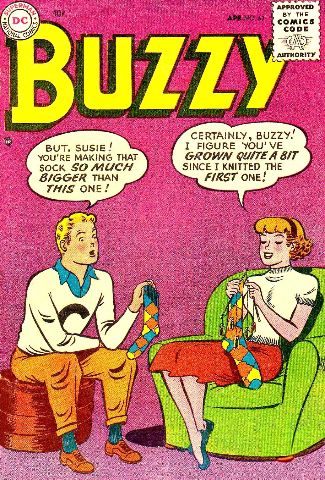 Buzzy issue 63 - Page 1