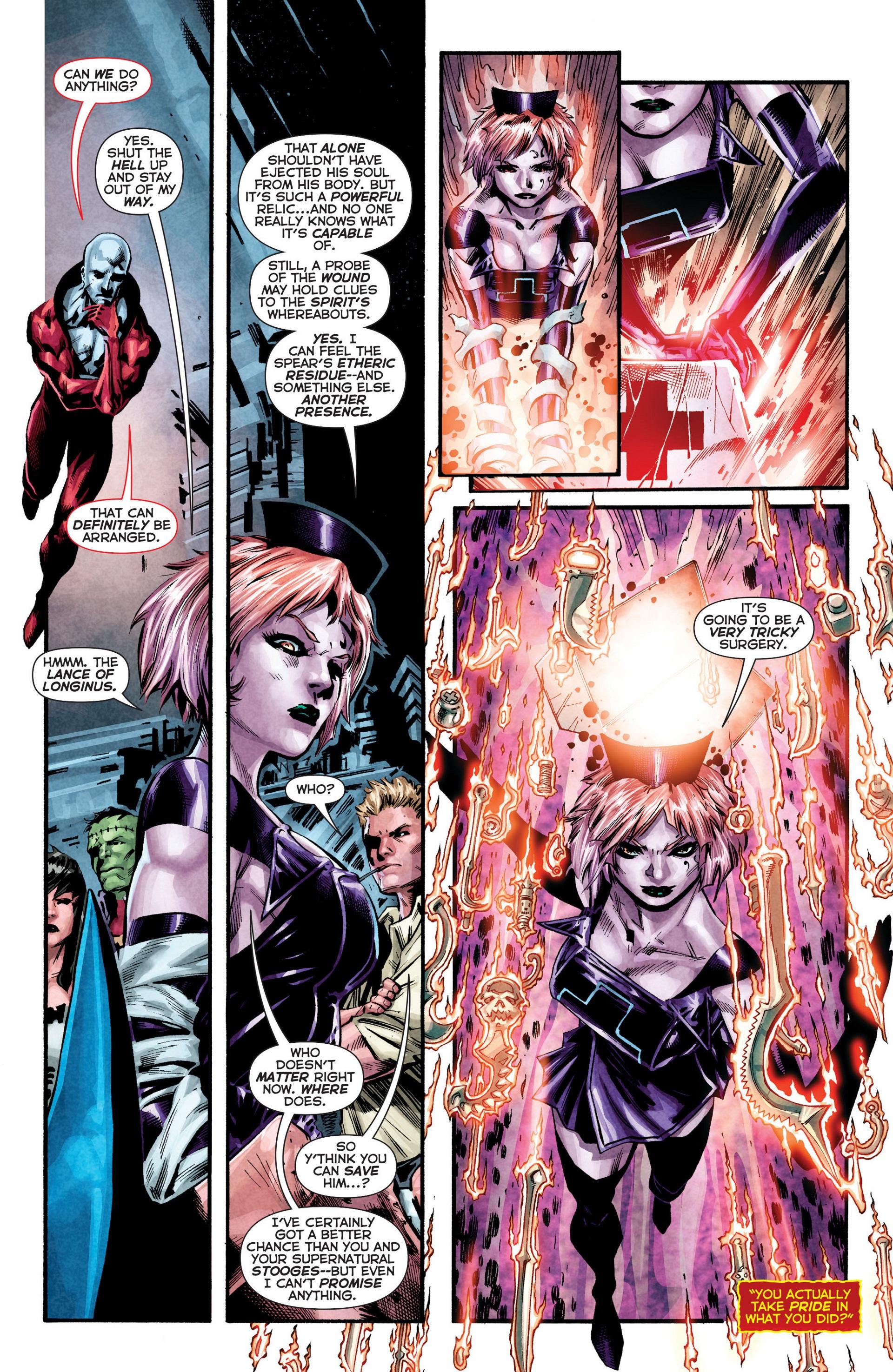 Read online Trinity of Sin: The Phantom Stranger comic -  Issue #8 - 16