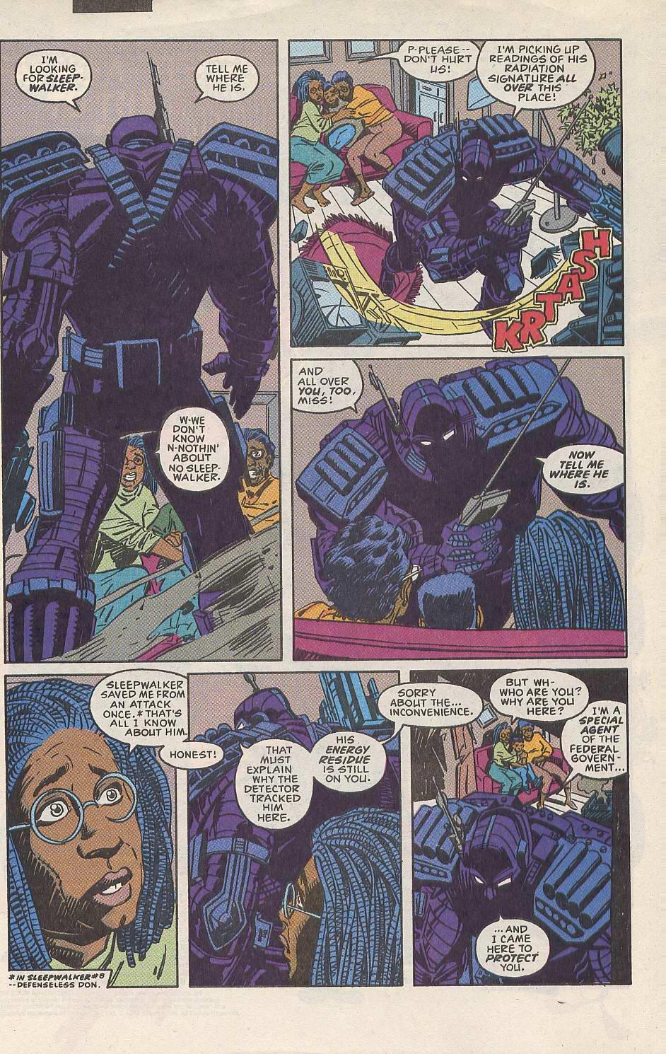 Read online Sleepwalker comic -  Issue #10 - 3