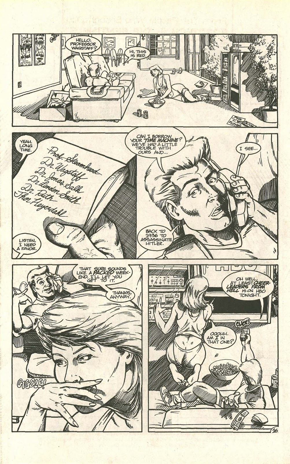 Dinosaurs For Hire (1988) issue 9 - Page 20