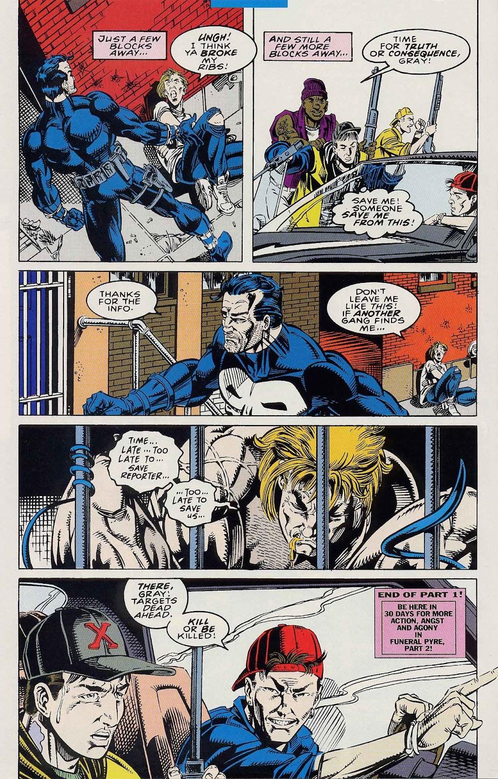 Comic Venom: Funeral Pyre issue 1