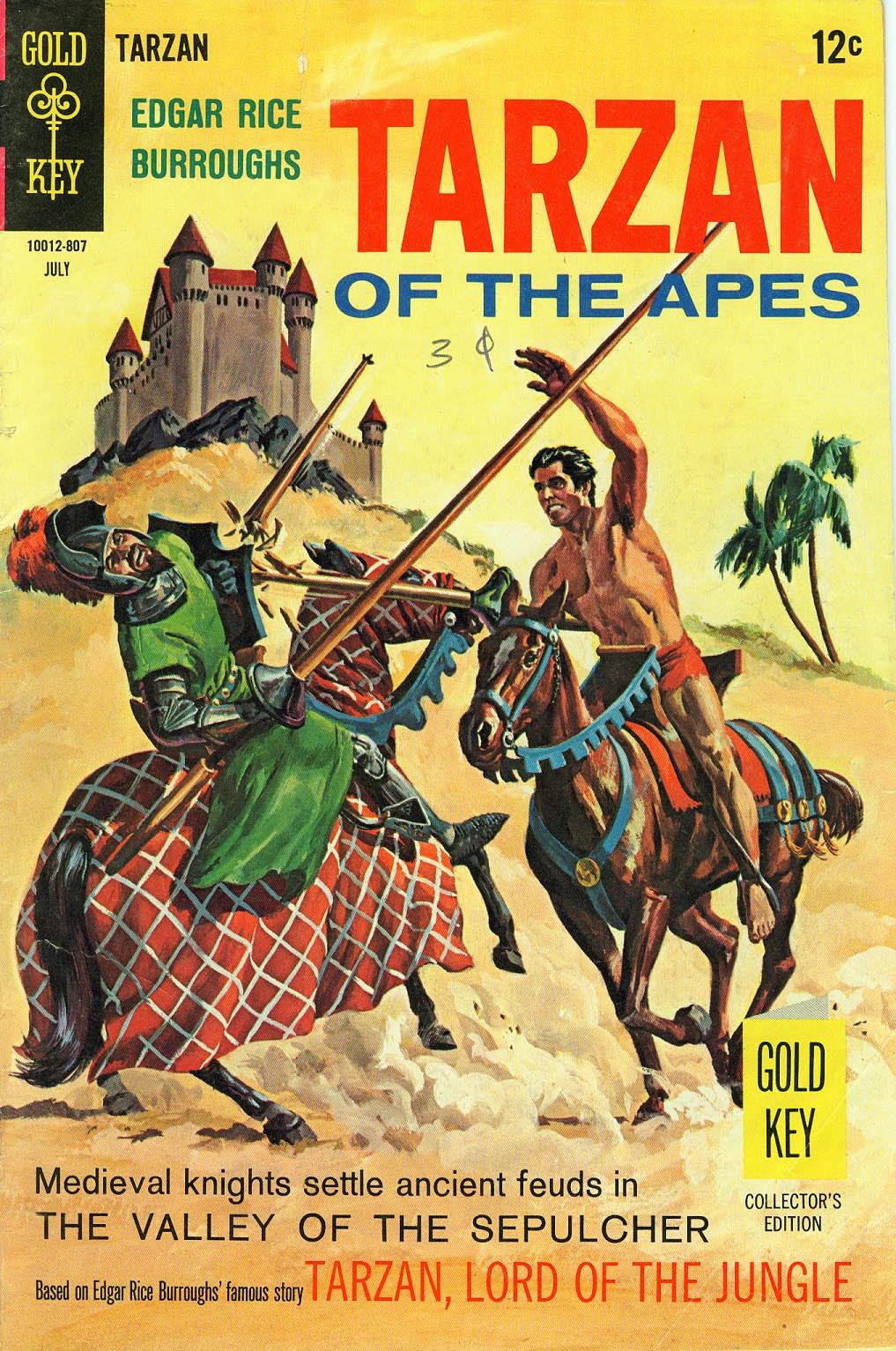 Tarzan (1962) issue 177 - Page 1