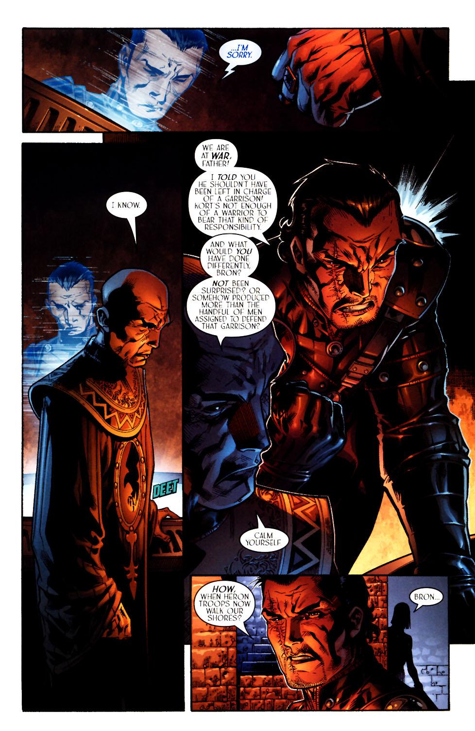 Read online Scion comic -  Issue #11 - 7
