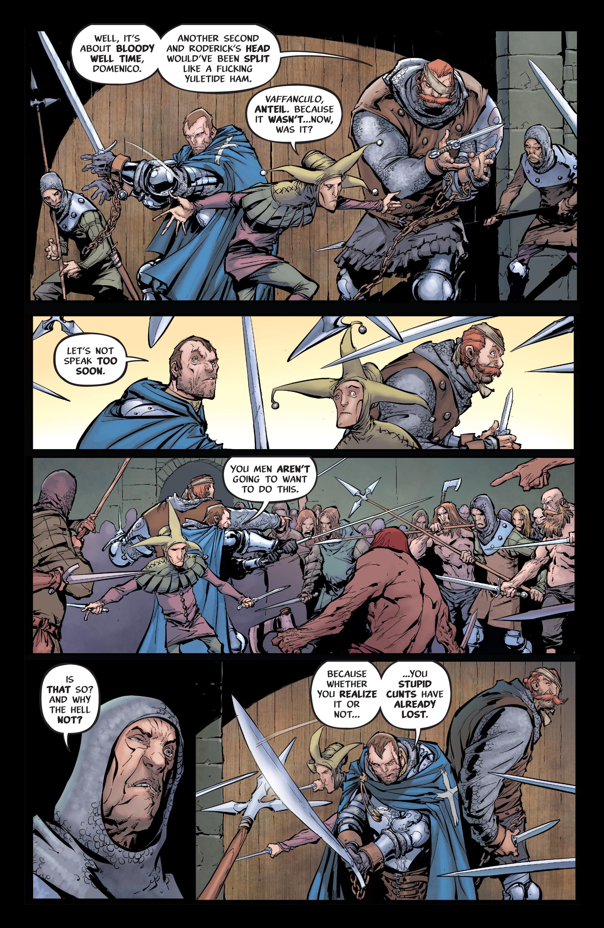 Read online Pestilence comic -  Issue #1 - 13