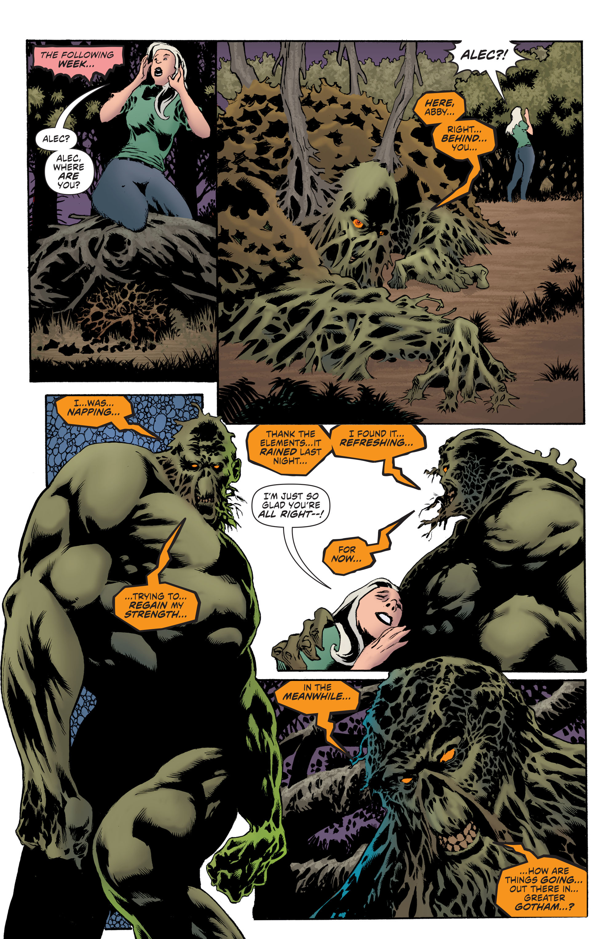 Read online Convergence Swamp Thing comic -  Issue #1 - 15