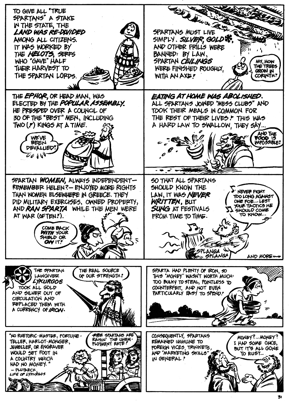 Read online The Cartoon History of the Universe comic -  Issue #5 - 33