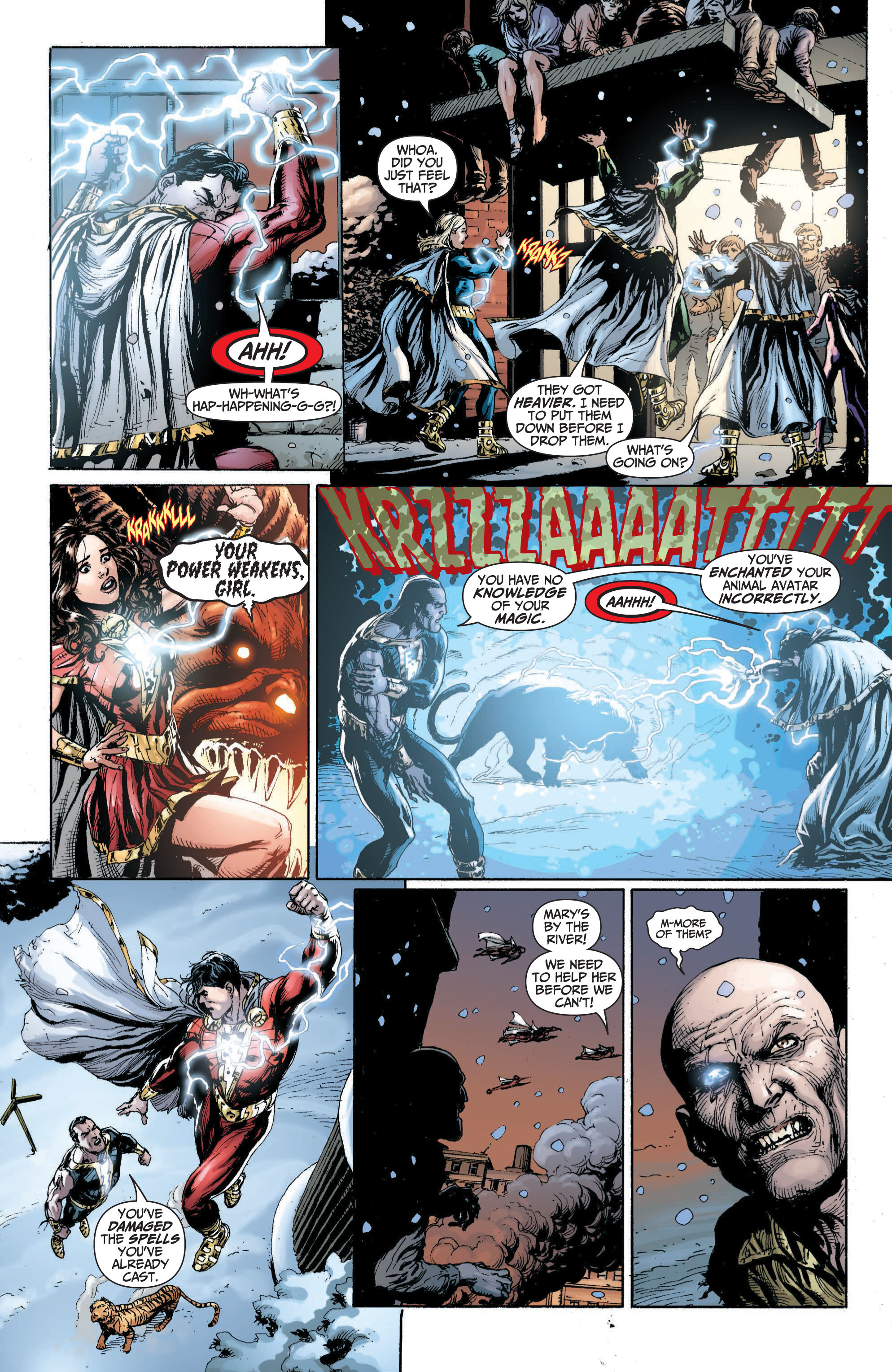 Read online Shazam! (2013) comic -  Issue #1 - 167
